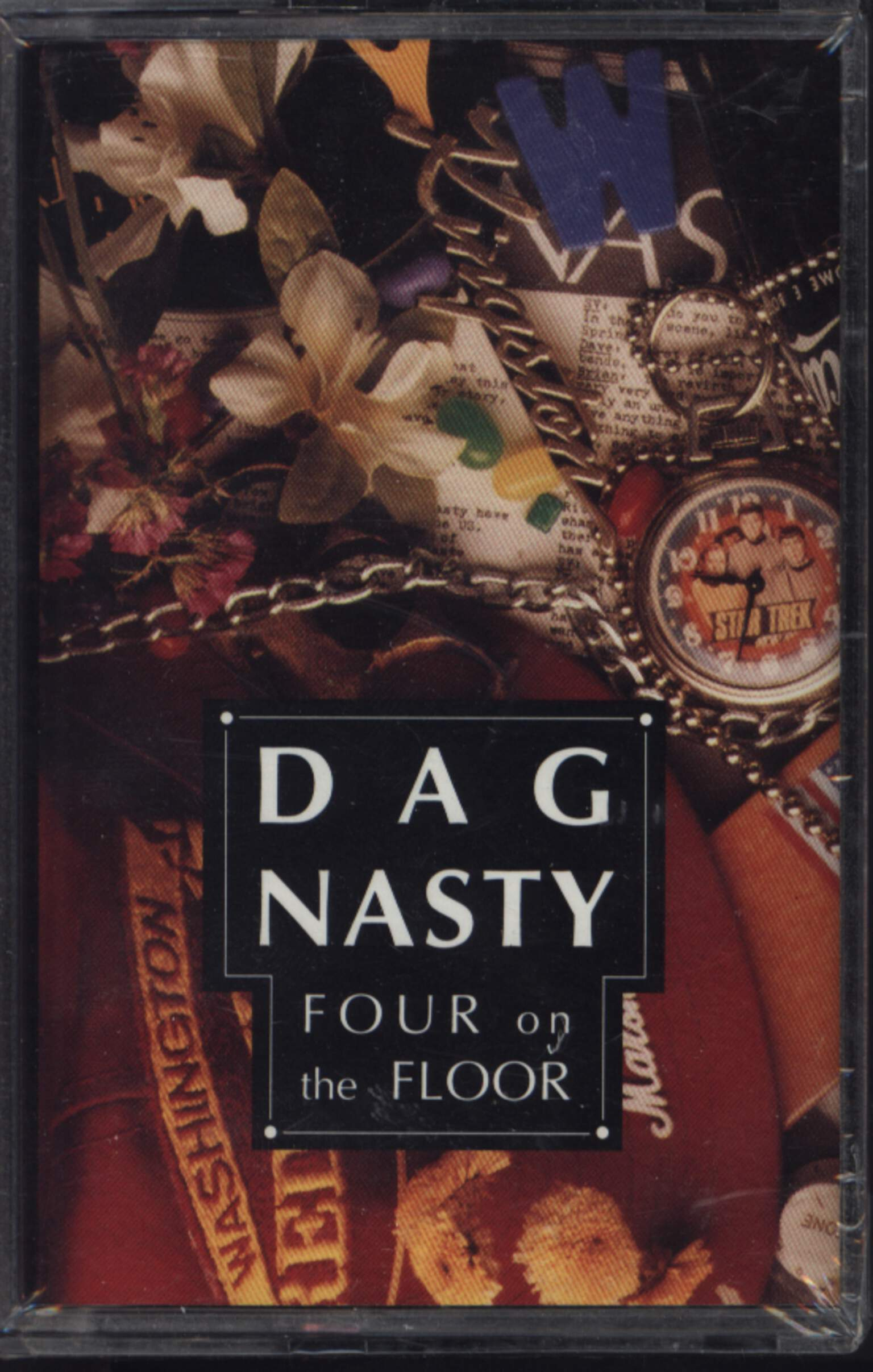 Dag Nasty: Four On The Floor, Compact Cassette