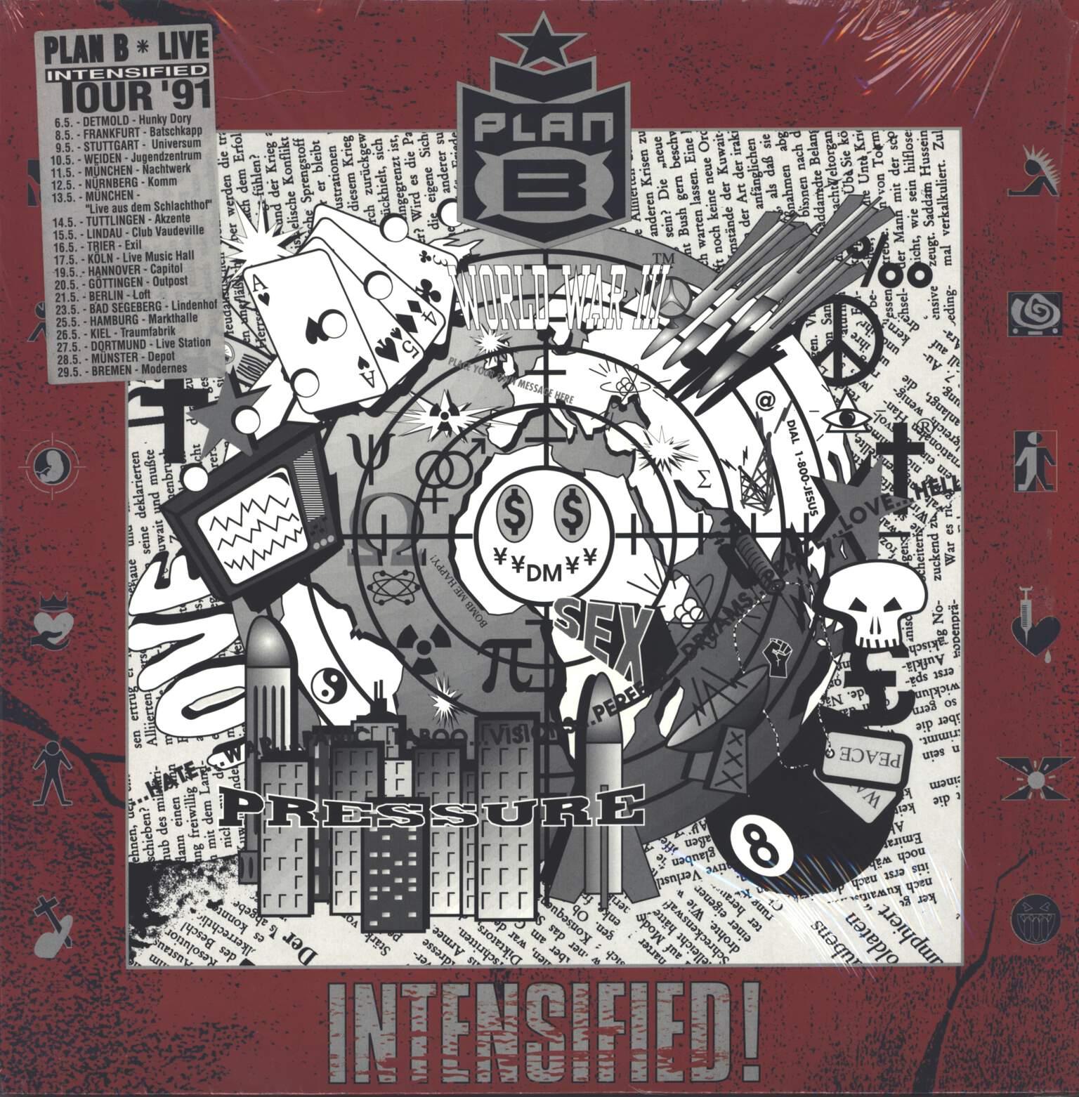 Plan B: Intensified!, LP (Vinyl)