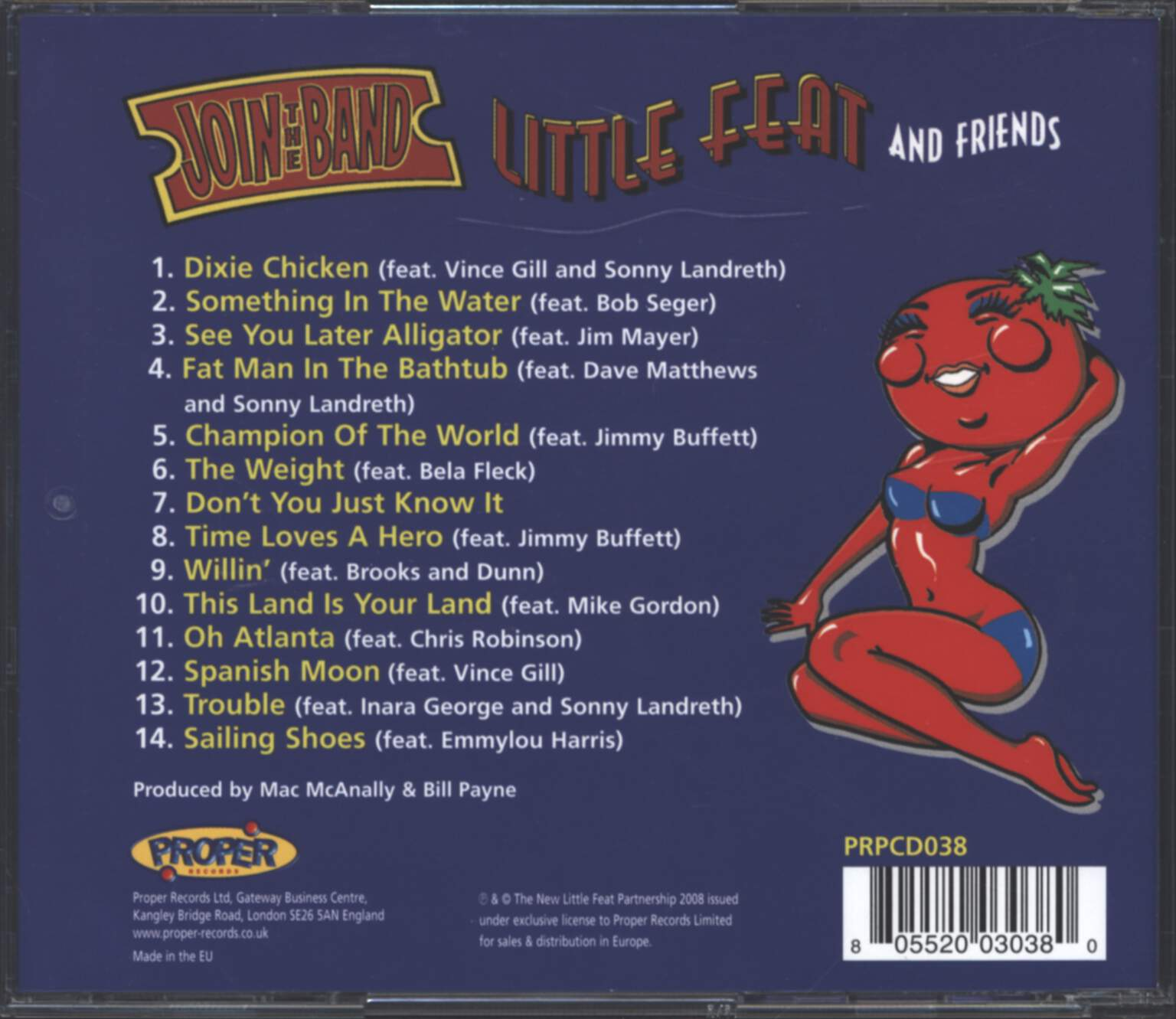Little Feat: Join The Band, CD