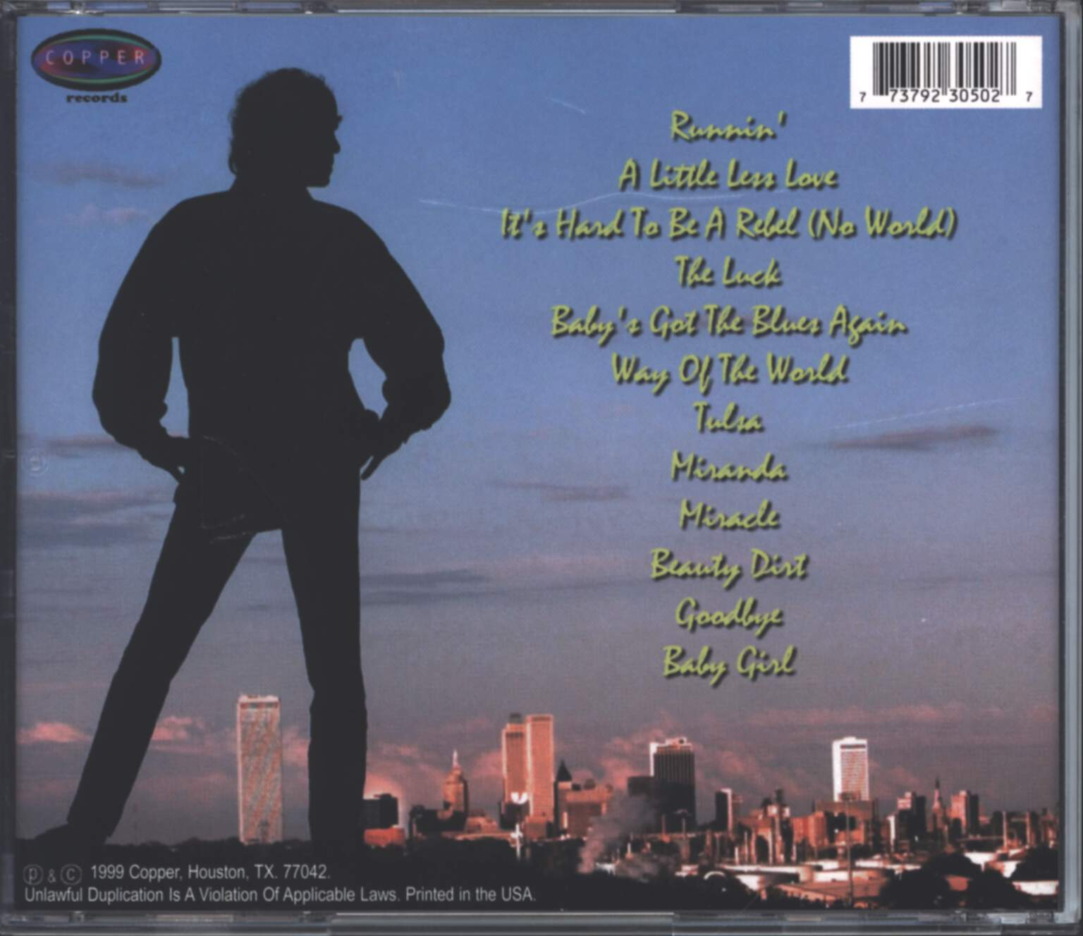 Dwight Twilley: Tulsa, CD