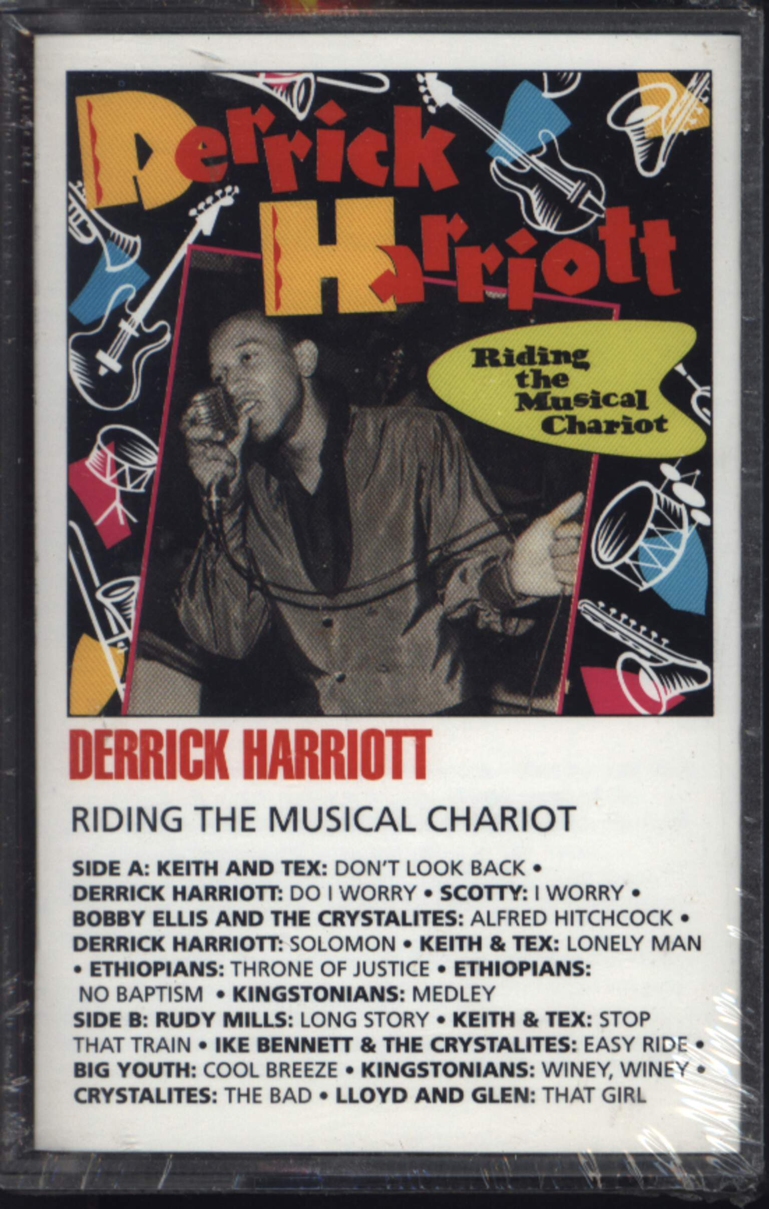 Derrick Harriott: Riding The Musical Chariot, Compact Cassette