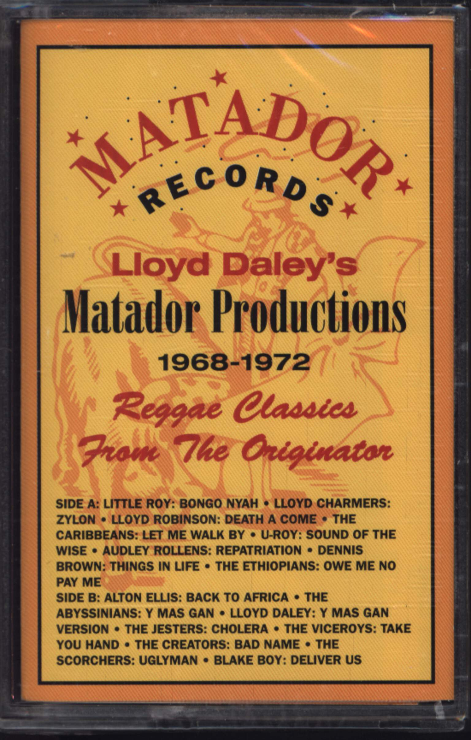 Various: Lloyd Daley's Matador Productions - Reggae Classics From The Originator, Compact Cassette