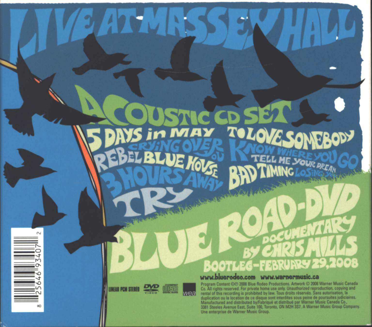Blue Rodeo: Blue Road, CD