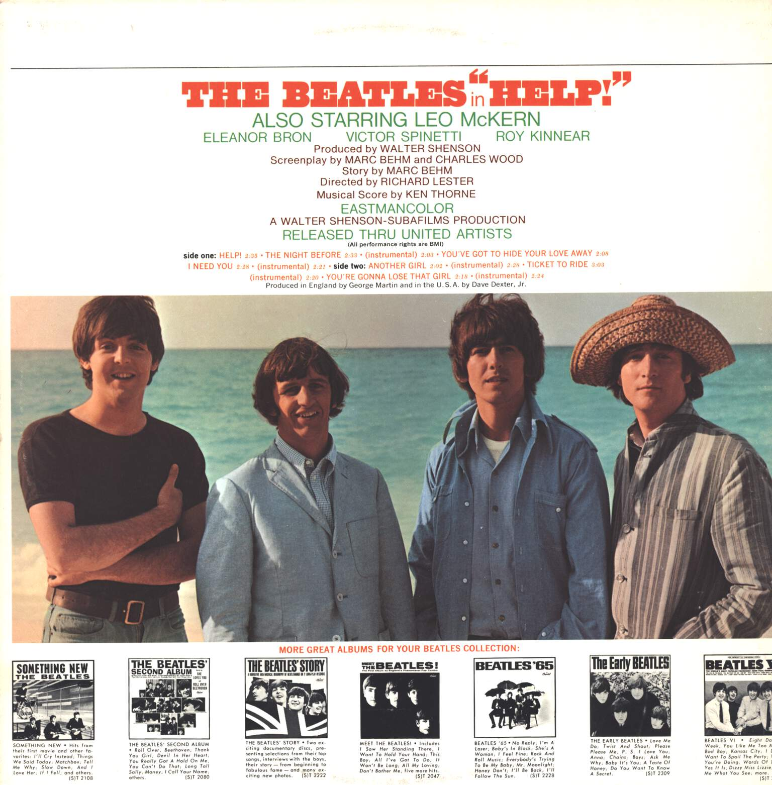 The Beatles: Help! (Original Motion Picture Soundtrack), LP (Vinyl)
