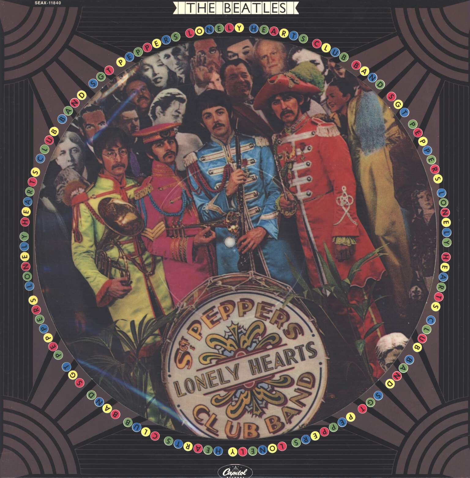 The Beatles: Sgt. Pepper's Lonely Hearts Club Band, LP (Vinyl)