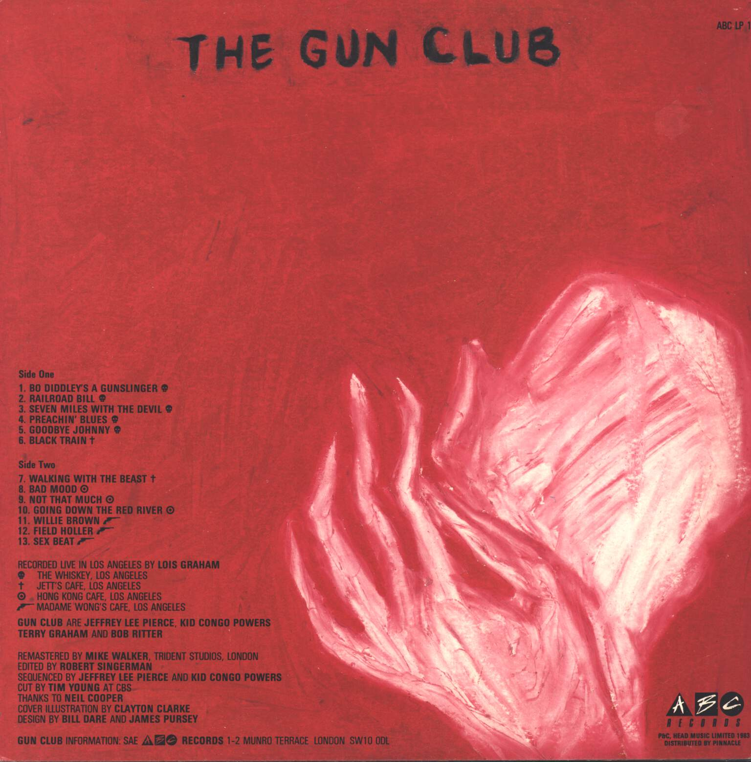 The Gun Club: The Birth, The Death, The Ghost, LP (Vinyl)