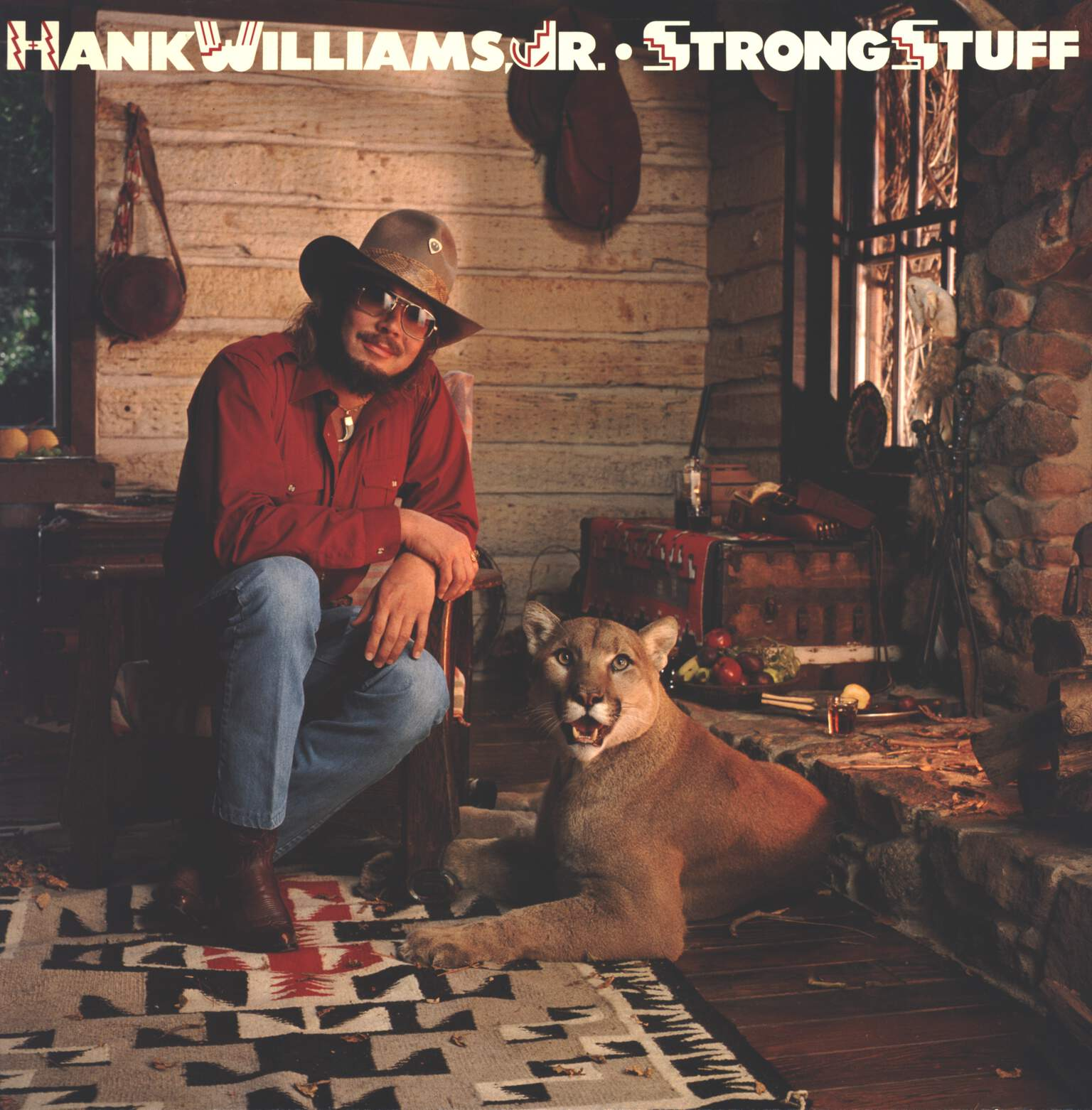 Hank Williams Jr: Strong Stuff, LP (Vinyl)