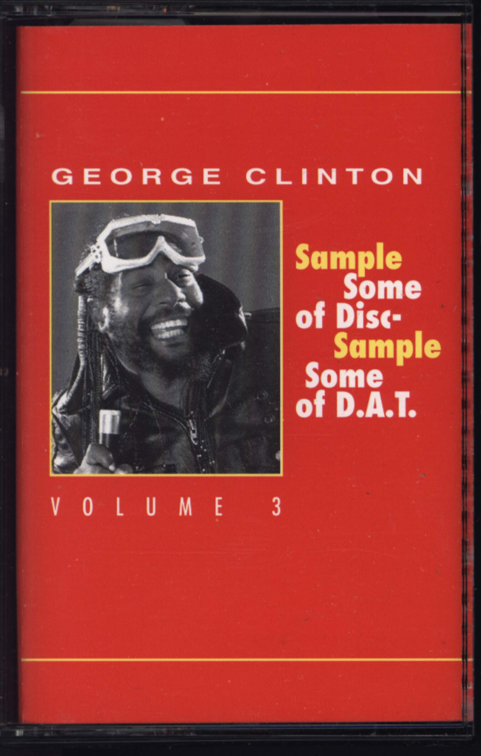 George Clinton: Sample Some Of Disc - Sample Some Of D.A.T. Volume 3, Compact Cassette