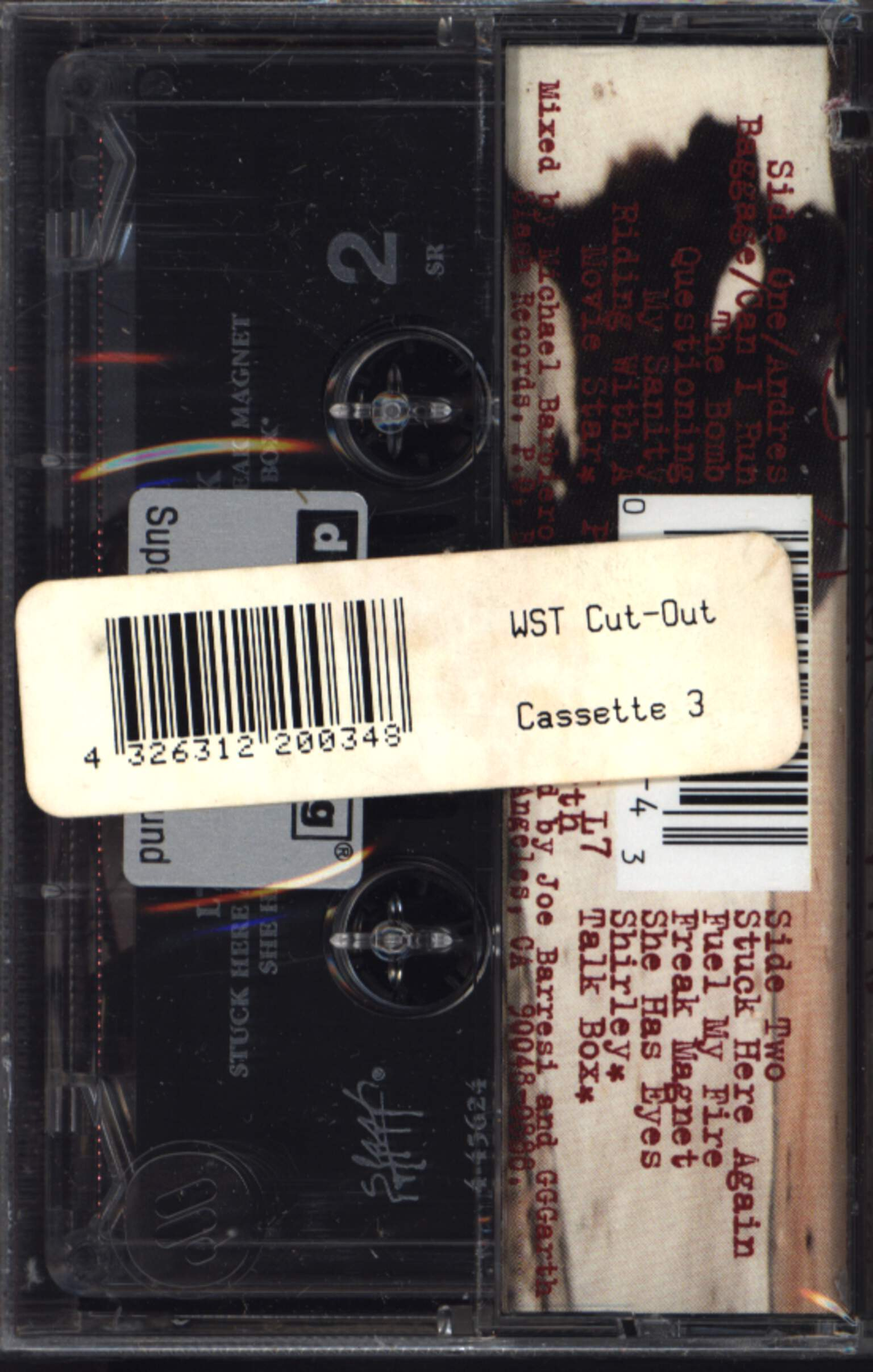 L7: Hungry For Stink, Compact Cassette