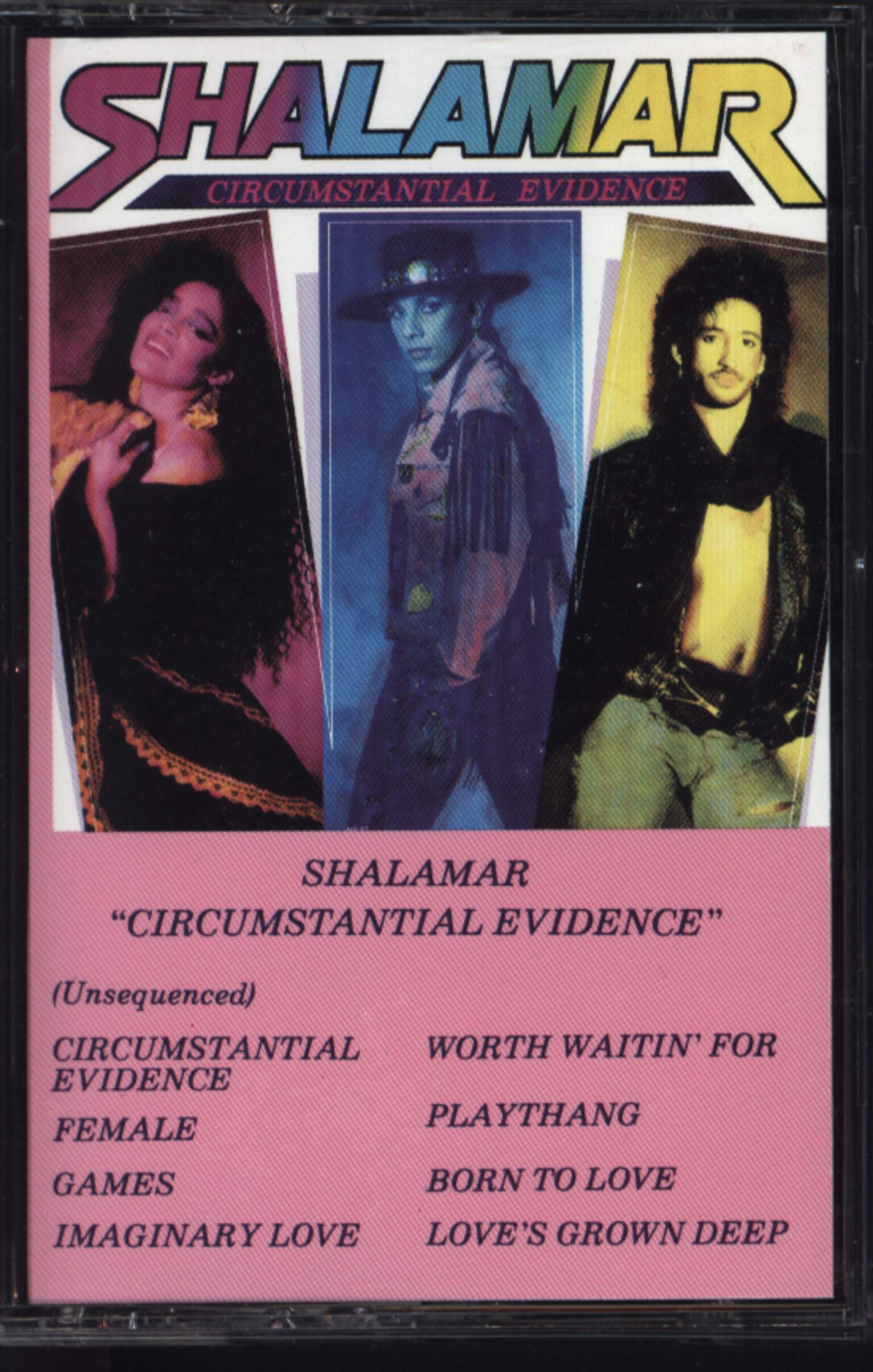 Shalamar: Circumstantial Evidence, Compact Cassette