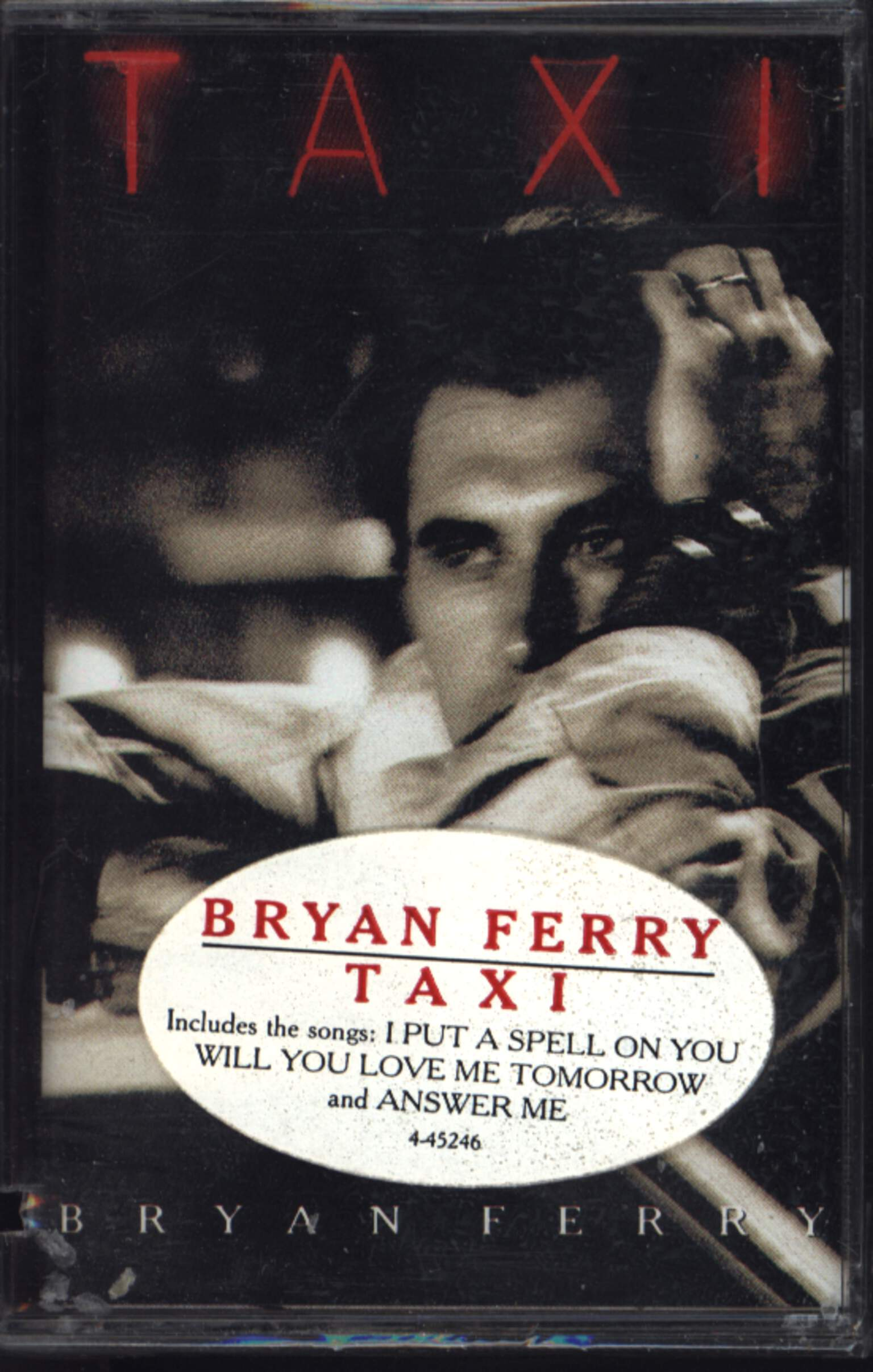 Bryan Ferry: Taxi, Compact Cassette