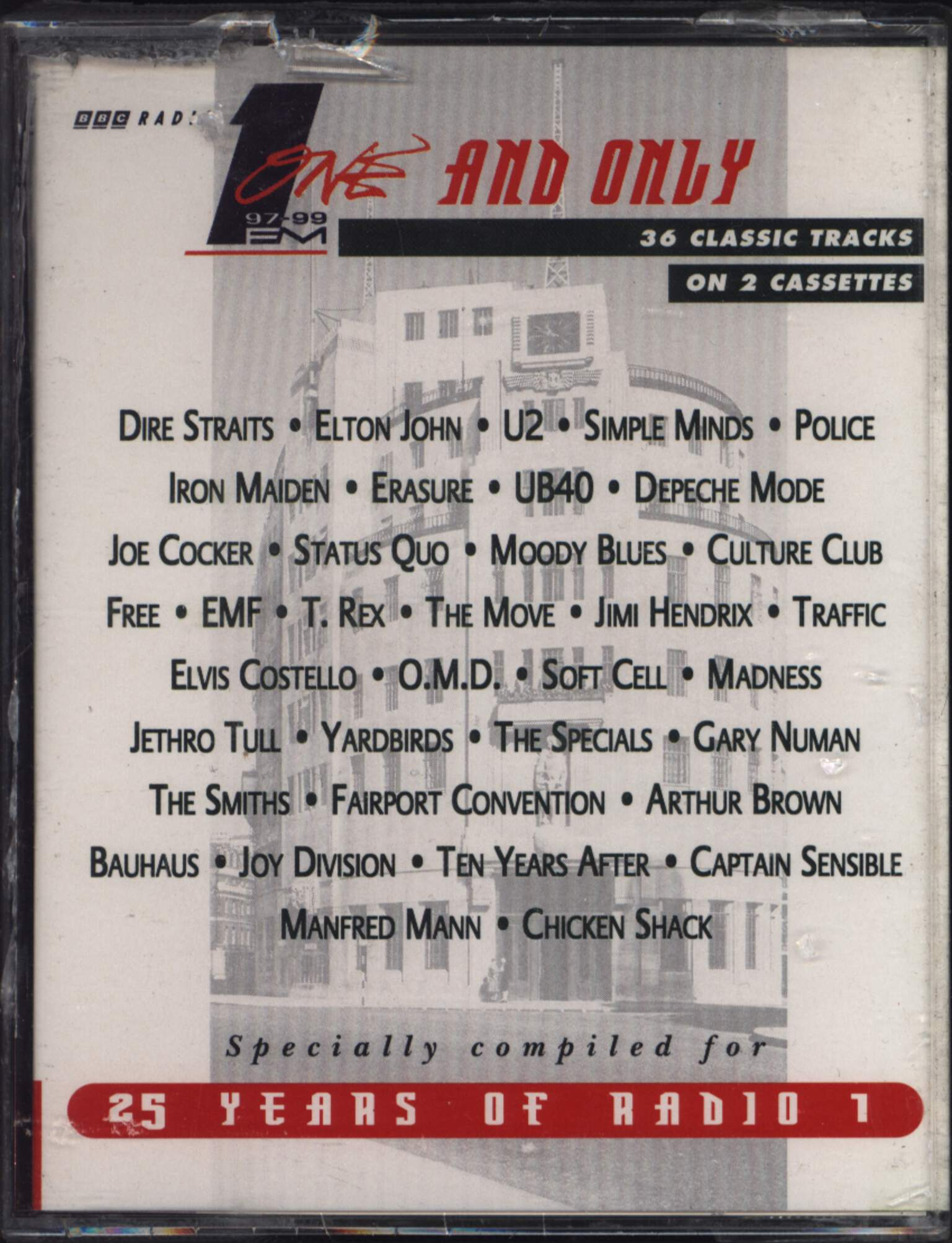 Various: 1 And Only - 25 Years Of Radio 1, Compact Cassette