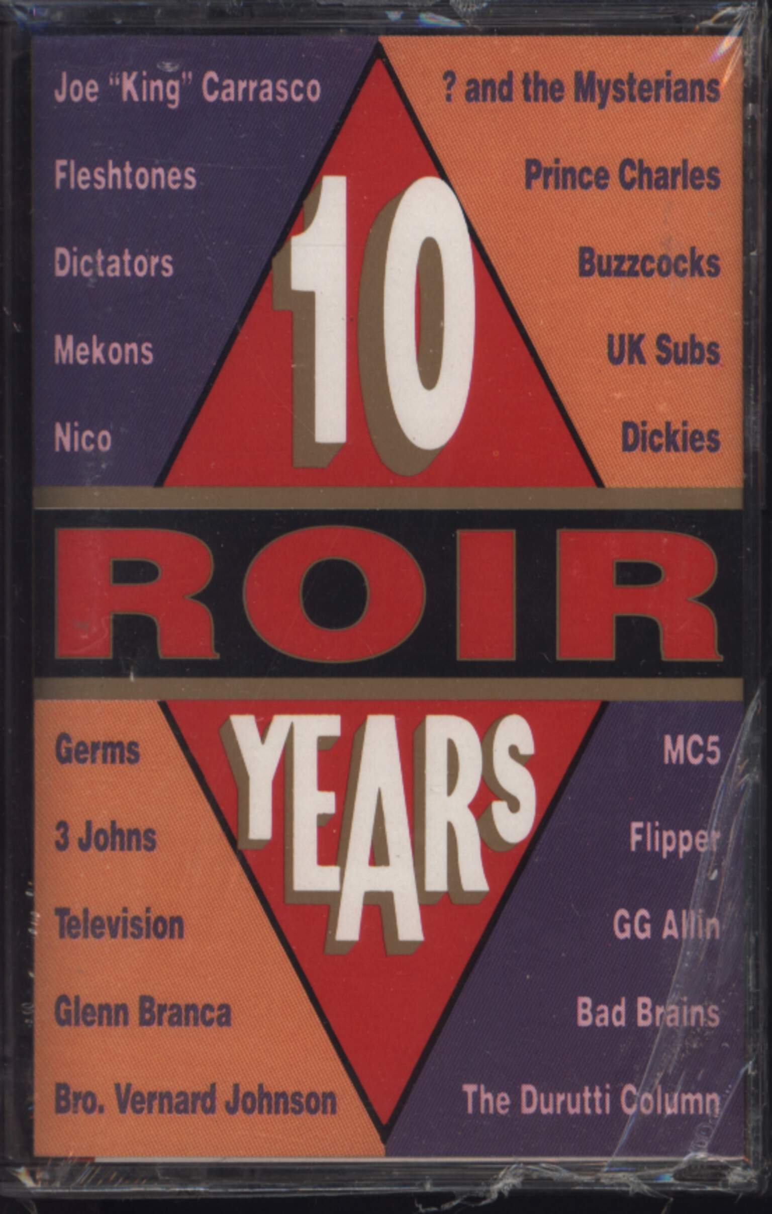 Various: 10 ROIR Years, Compact Cassette