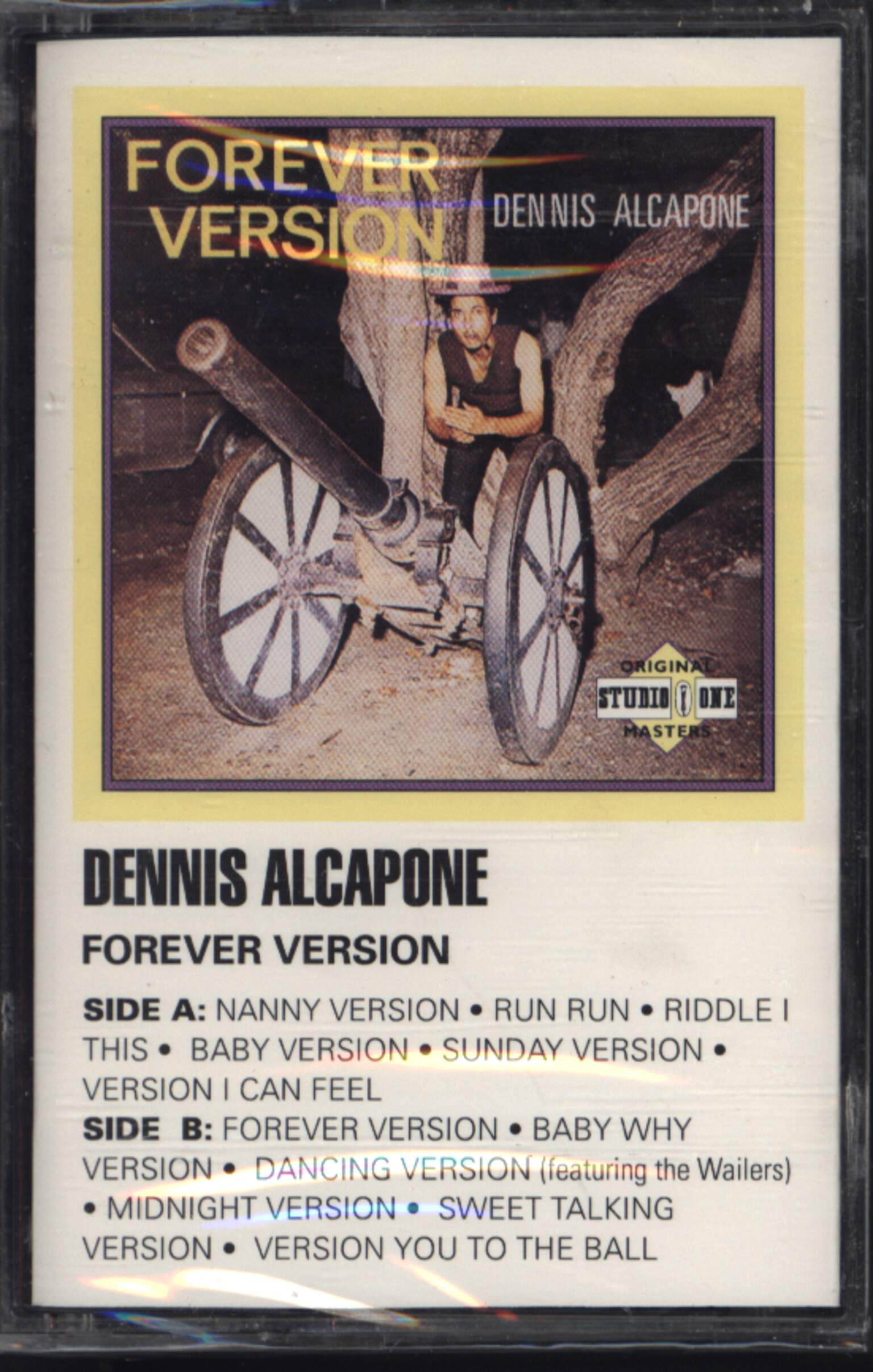 Dennis Alcapone: Forever Version, Compact Cassette