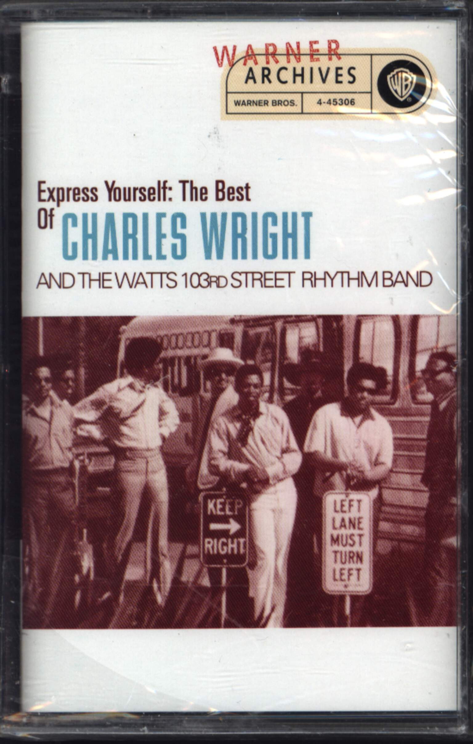 Charles Wright & The Watts 103rd St Rhythm Band: Express Yourself: The Best Of Charles Wright & The Watts 103rd Street Rhythm Band, Compact Cassette