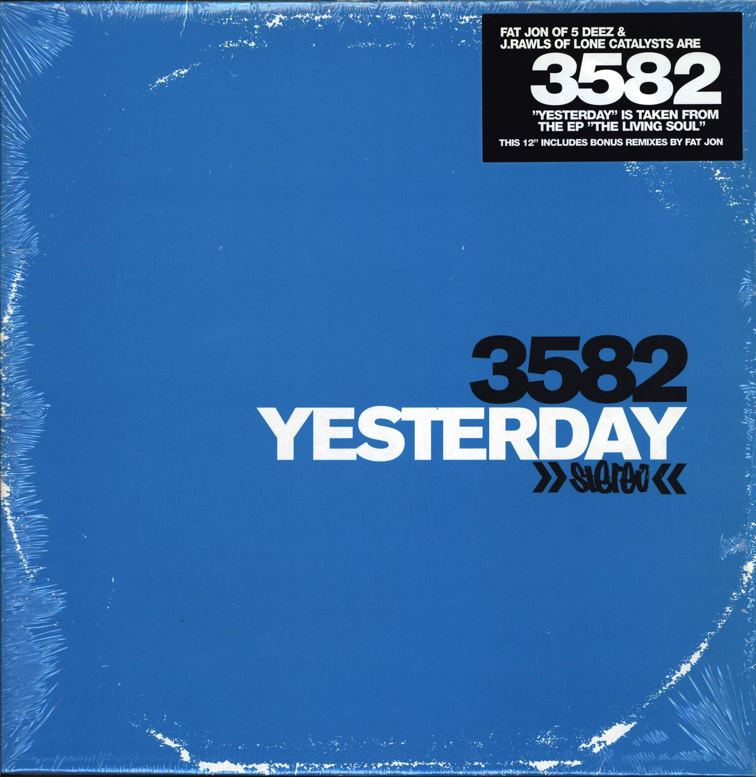"3582: Yesterday, 12"" Maxi Single (Vinyl)"