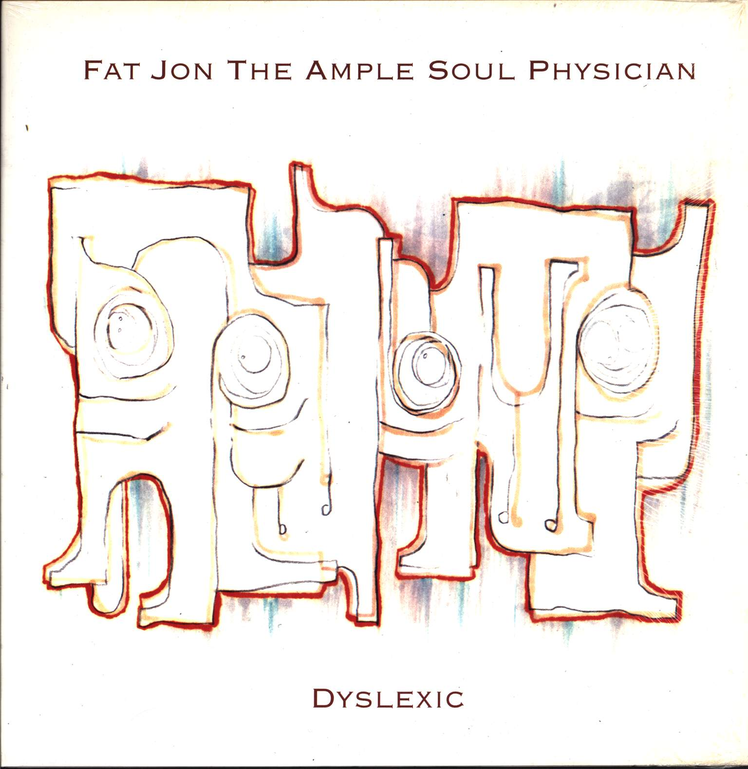 "Fat Jon: Dyslexic, 12"" Maxi Single (Vinyl)"