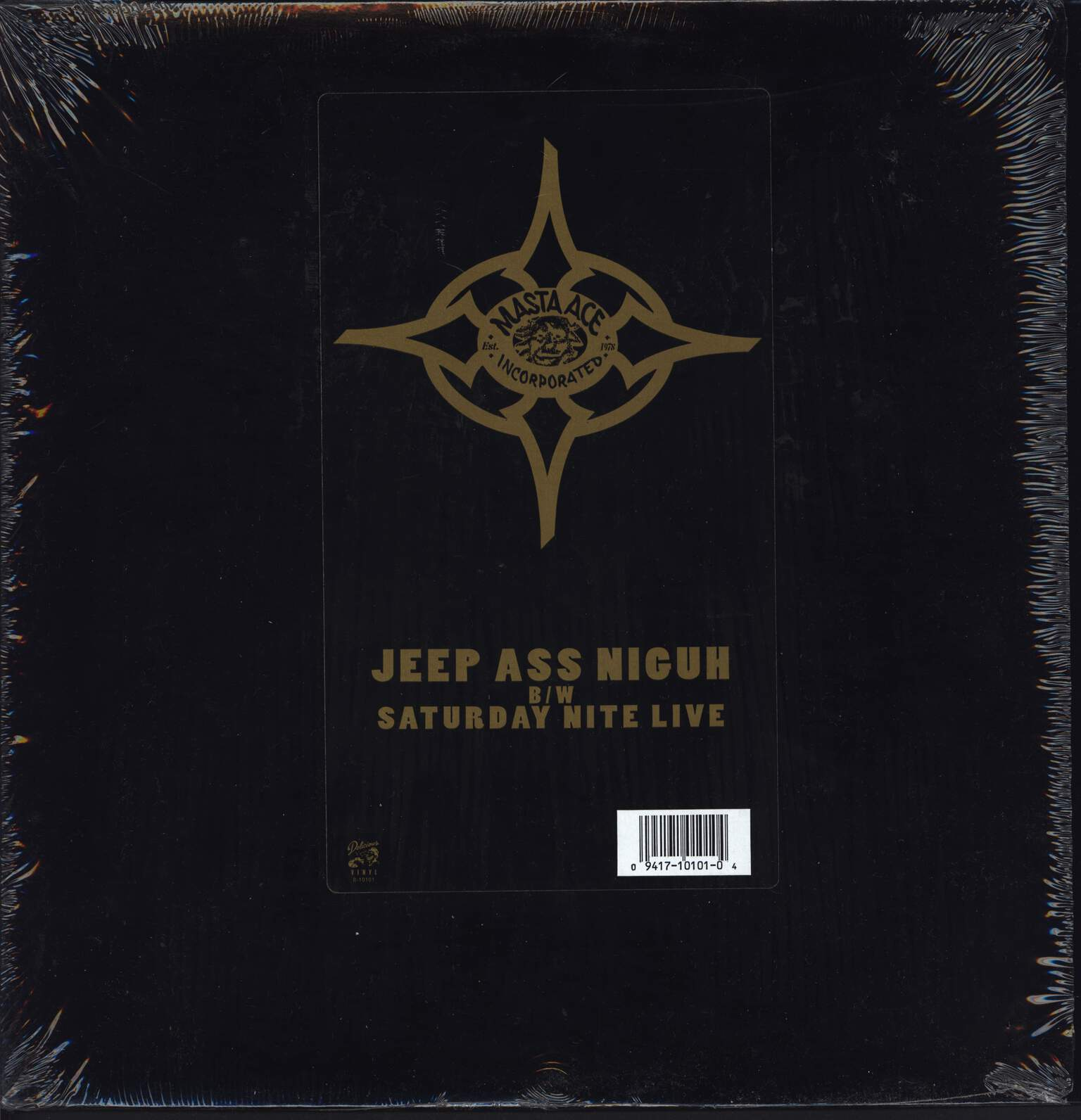 "Masta Ace Incorporated: Jeep Ass Niguh / Saturday Nite Live, 12"" Maxi Single (Vinyl)"