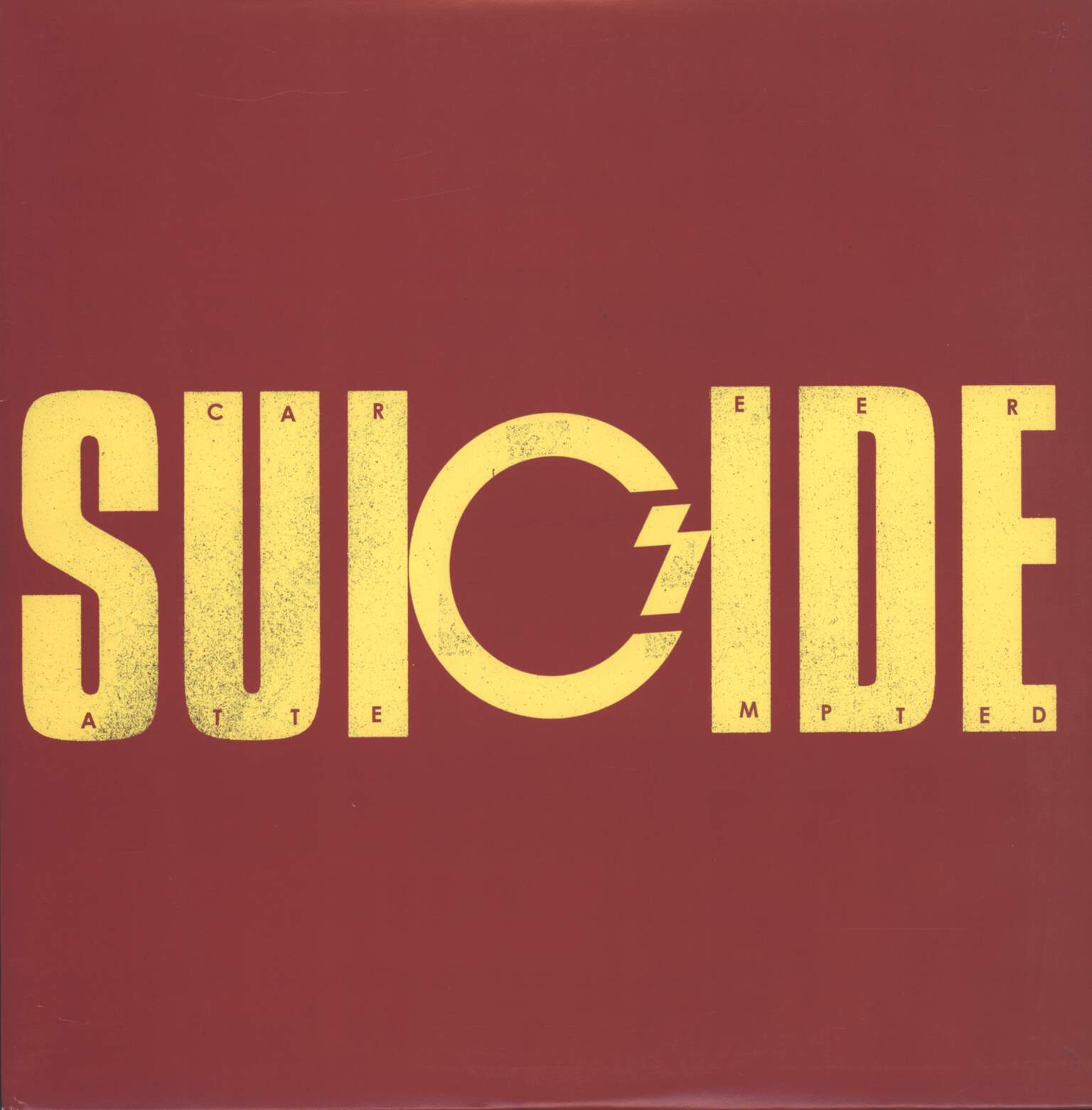 "Career Suicide: Attempted Suicide, 12"" Maxi Single (Vinyl)"