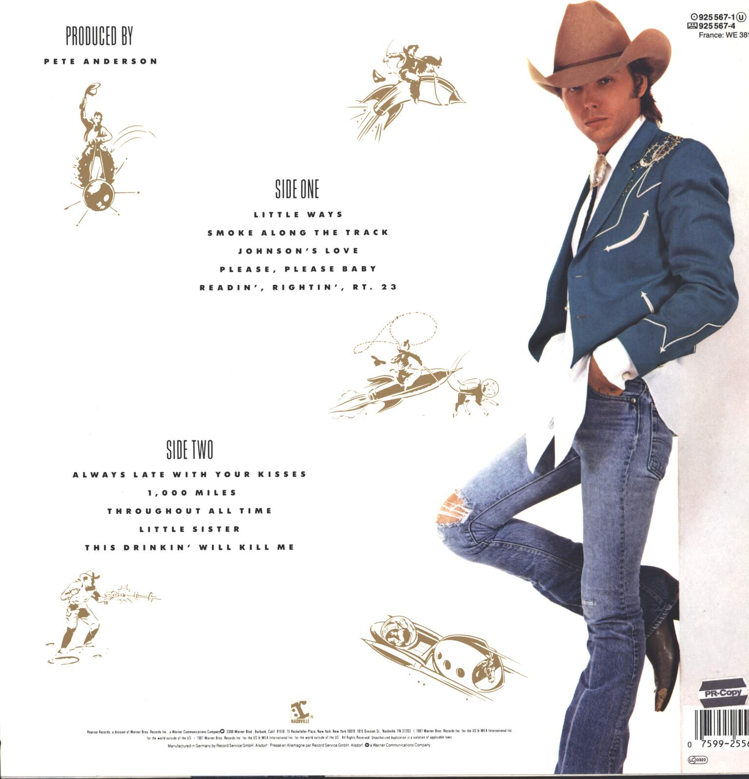 Dwight Yoakam: Hillbilly DeLuxe, LP (Vinyl)