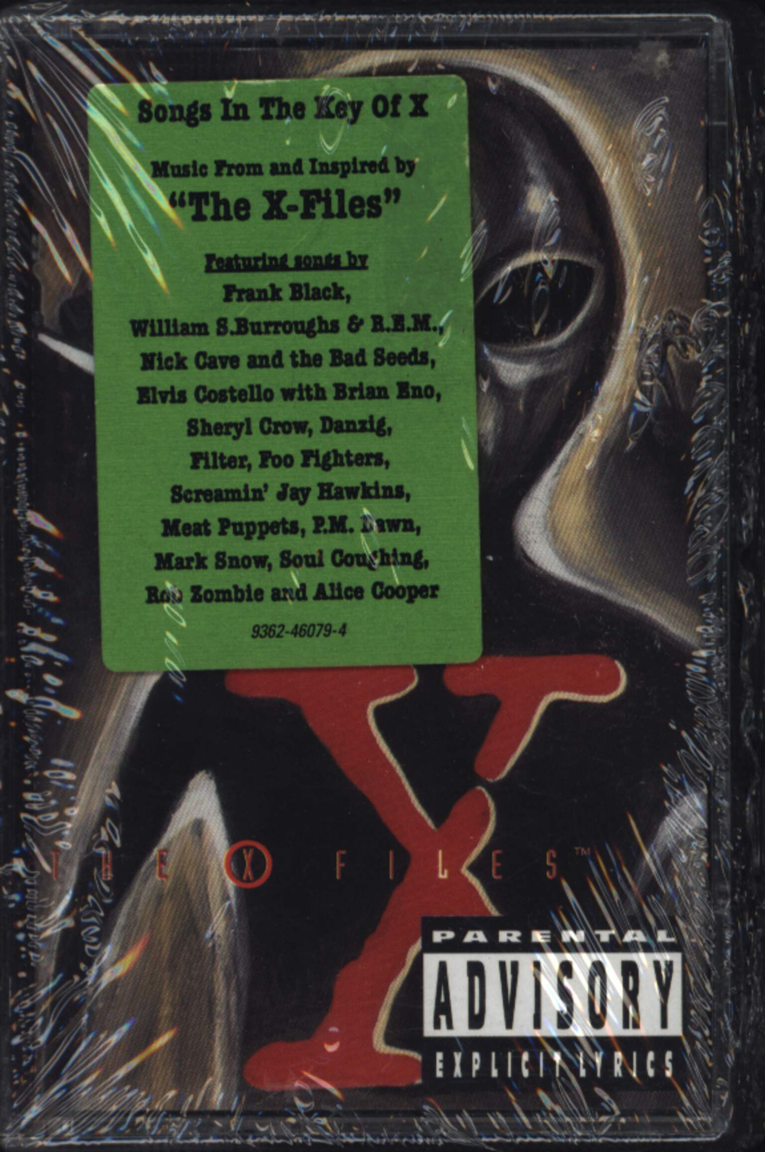 Various: The X-Files - Songs In The Key Of X, Compact Cassette