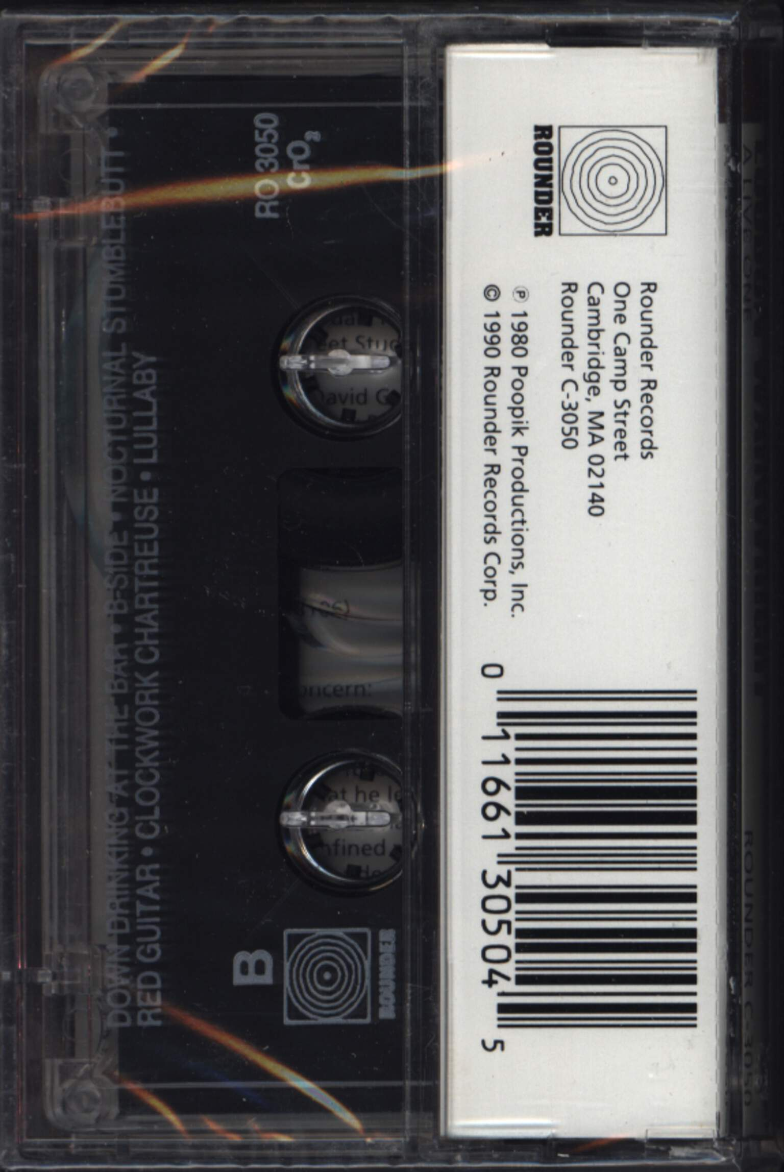 Loudon Wainwright III: A Live One, Compact Cassette