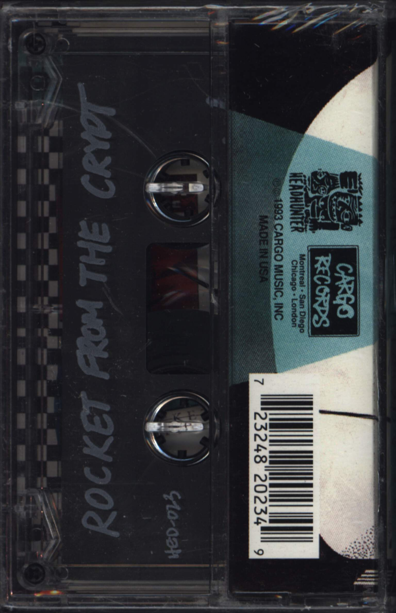 Rocket From the Crypt: All Systems Go!, Compact Cassette