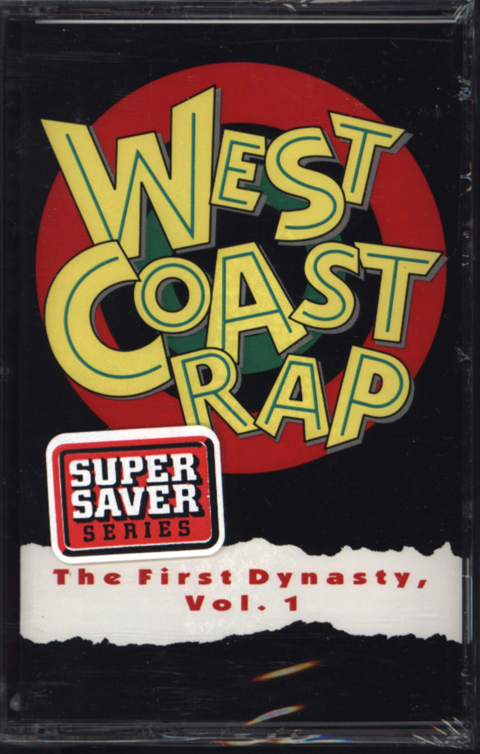 Various: West Coast Rap - The First Dynasty, Vol. 1, Compact Cassette