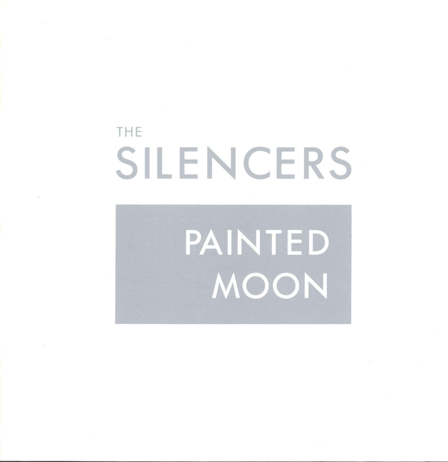 "The Silencers: Painted Moon, 12"" Maxi Single (Vinyl)"