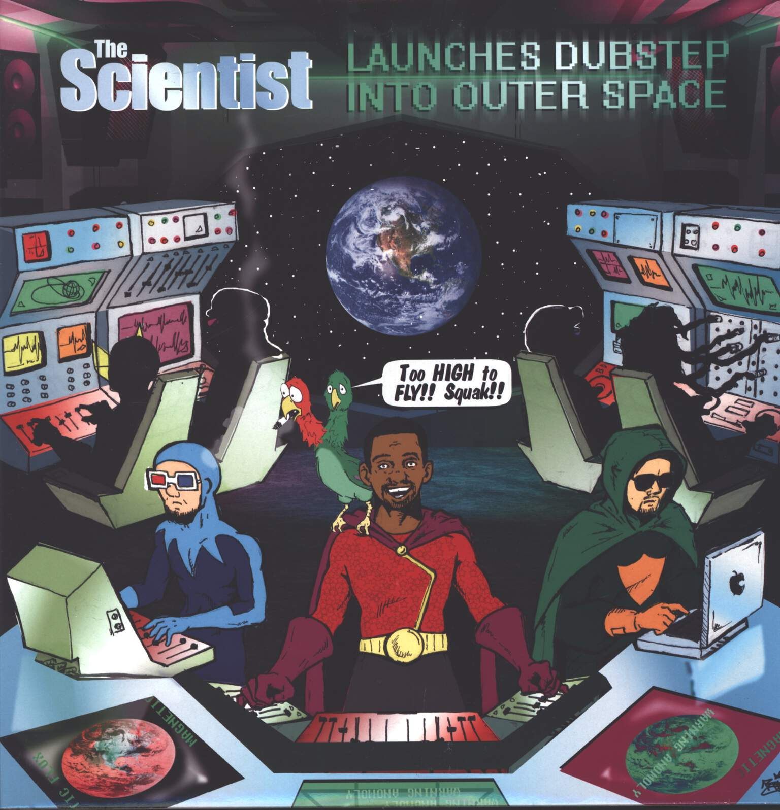 Scientist: The Scientist Launches Dubstep Into Outer Space, LP (Vinyl)