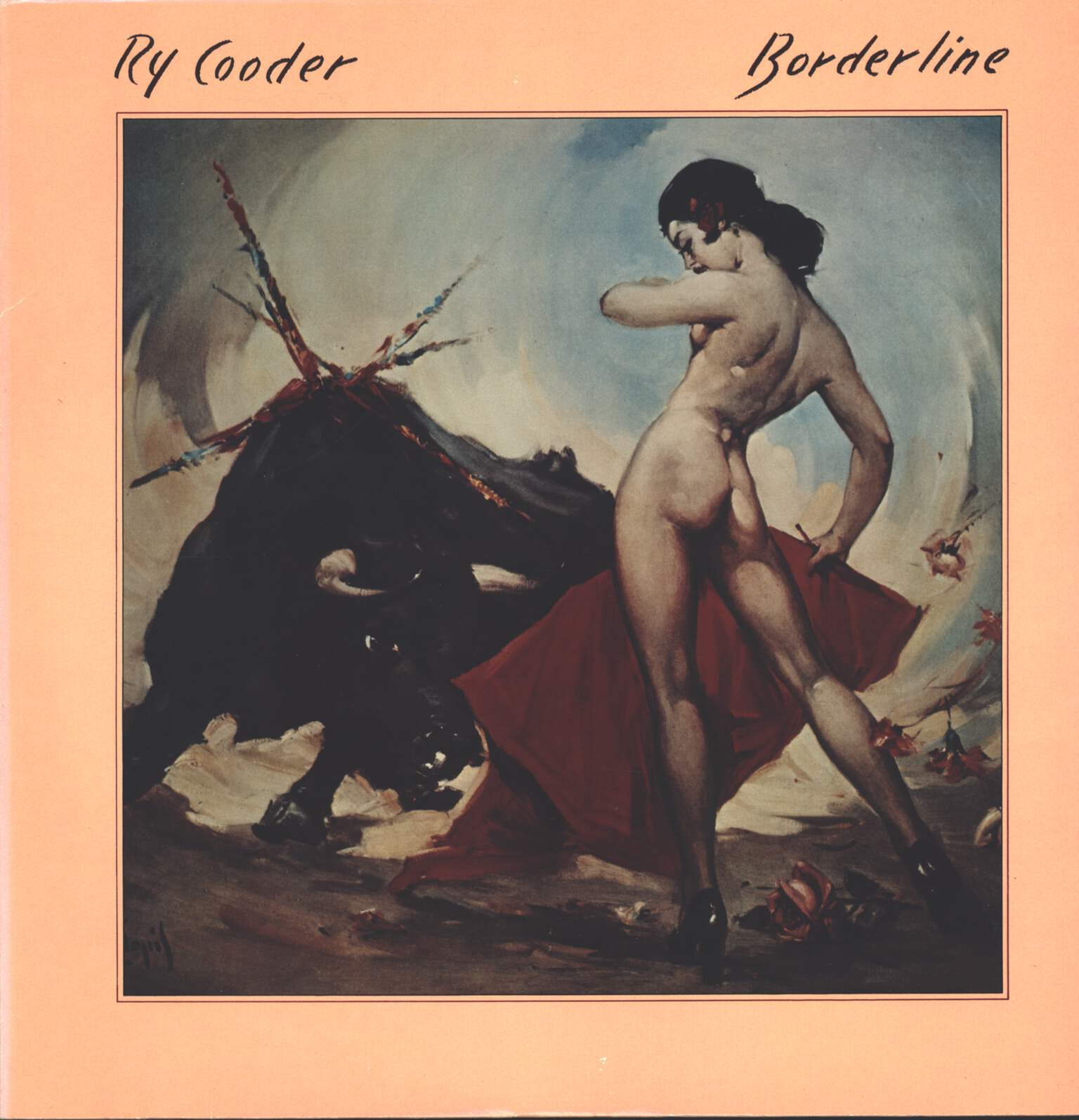 Ry Cooder: Borderline, LP (Vinyl)