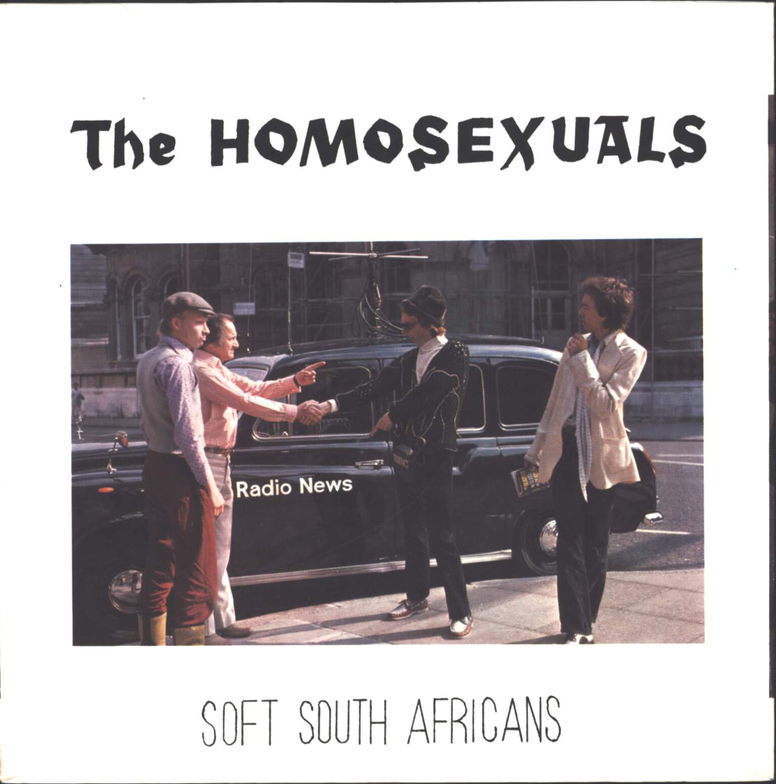 "The Homosexuals: Hearts In Exile, 7"" Single (Vinyl)"