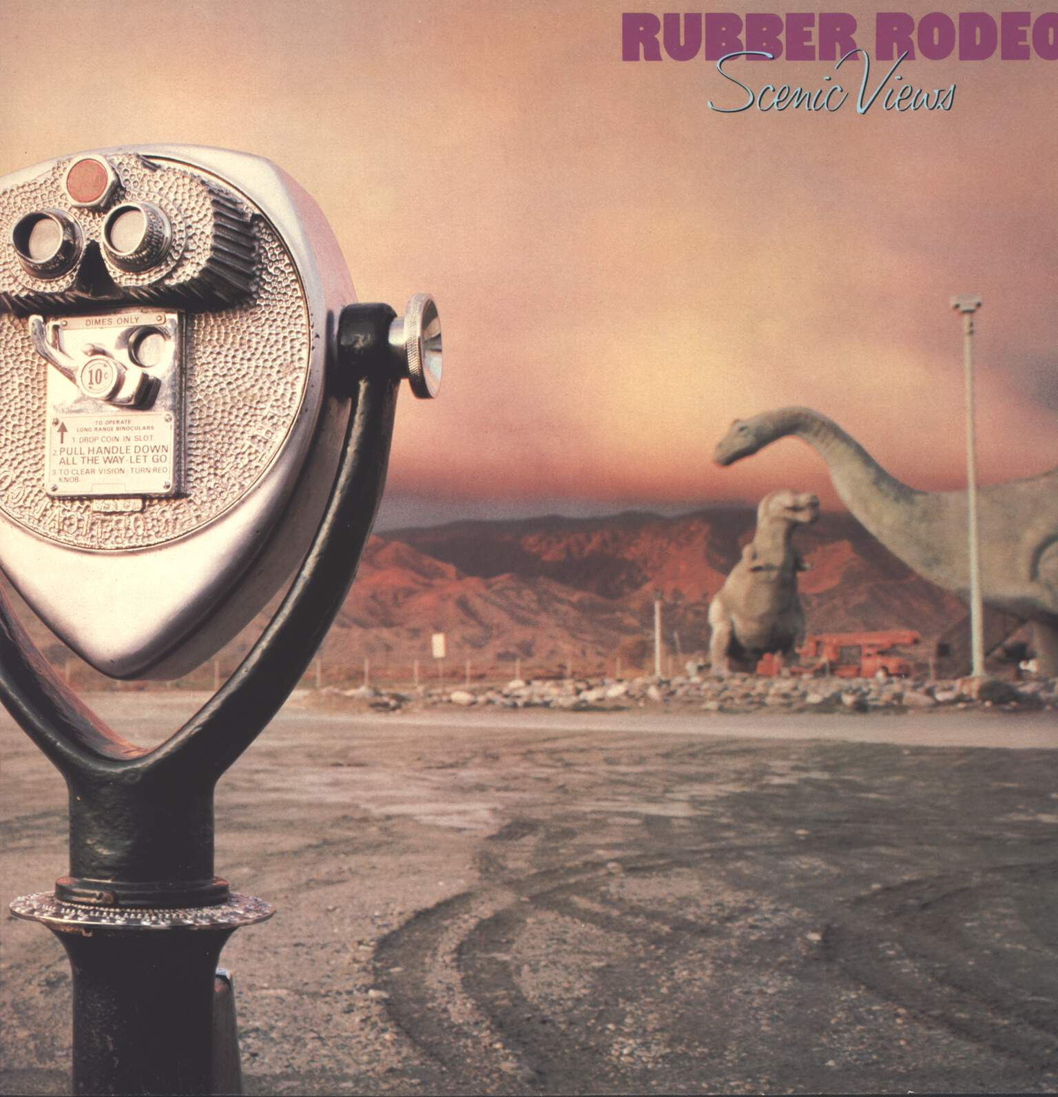 Rubber Rodeo: Scenic Views, LP (Vinyl)