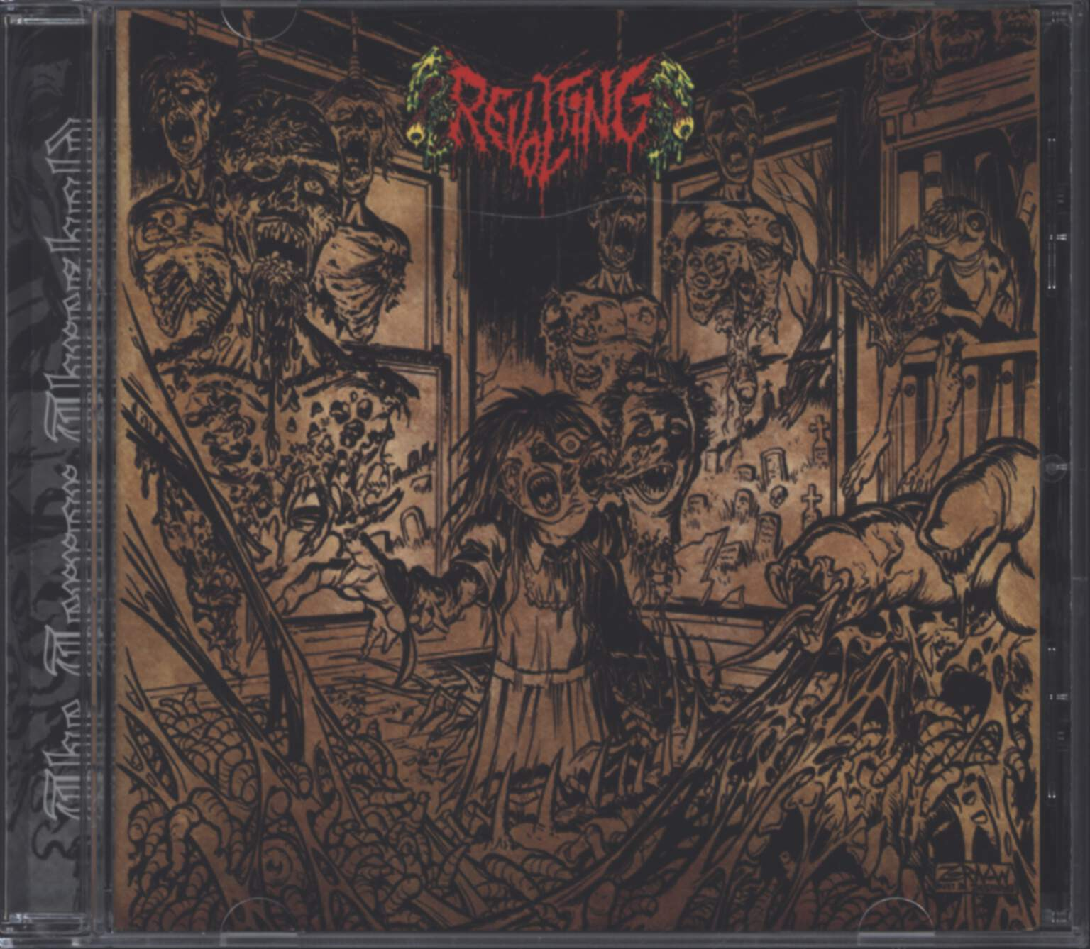 Revolting: The Terror Threshold, CD