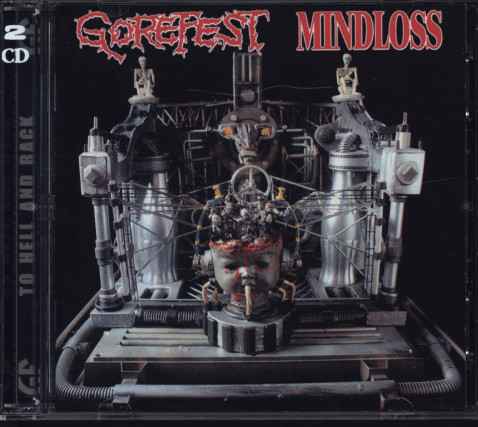Gorefest: The Ultimate Collection Part 1 - Mindloss & Demos, CD