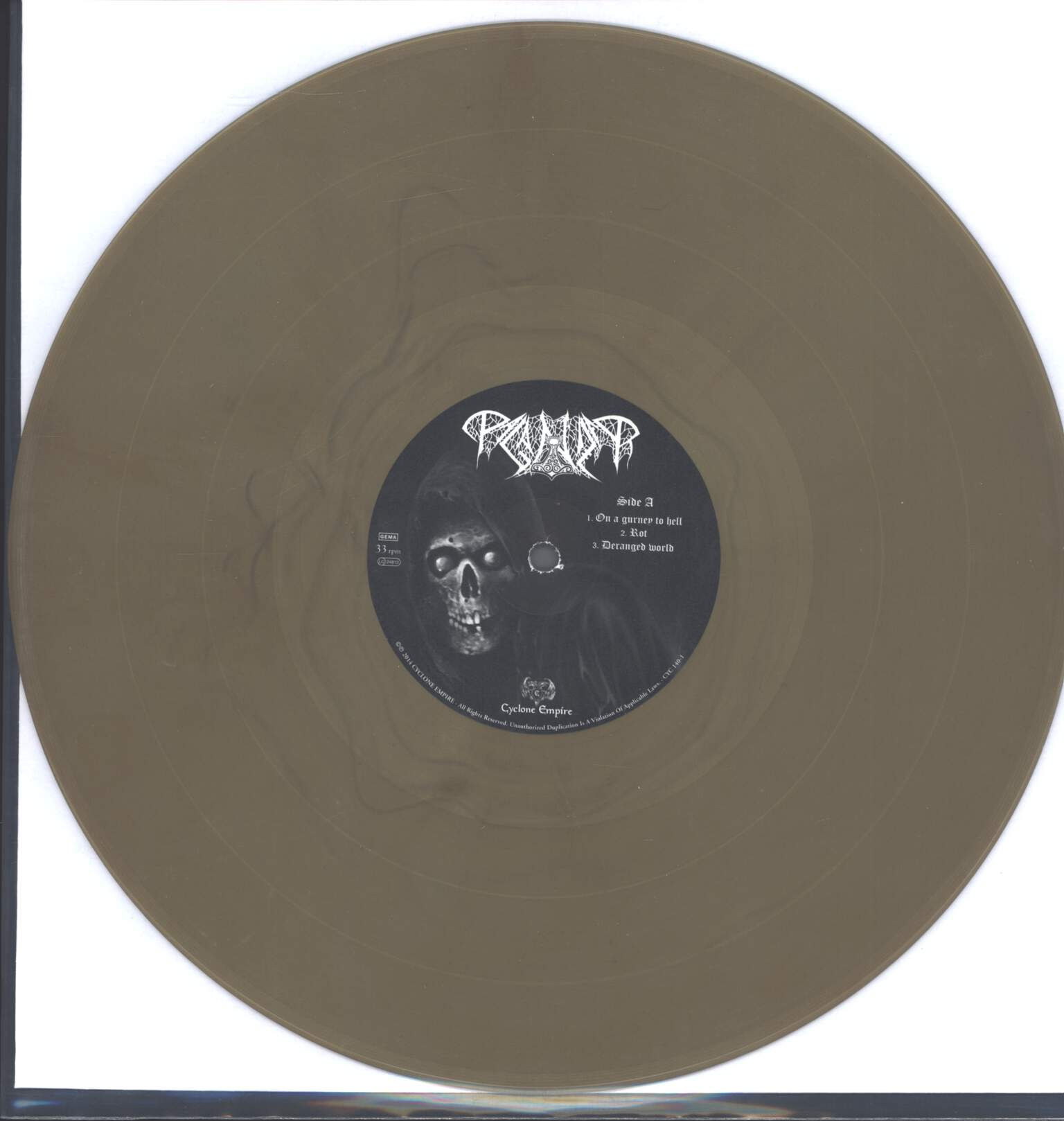 "Paganizer: Cadaver Casket (On A Gurney To Hell), 12"" Maxi Single (Vinyl)"