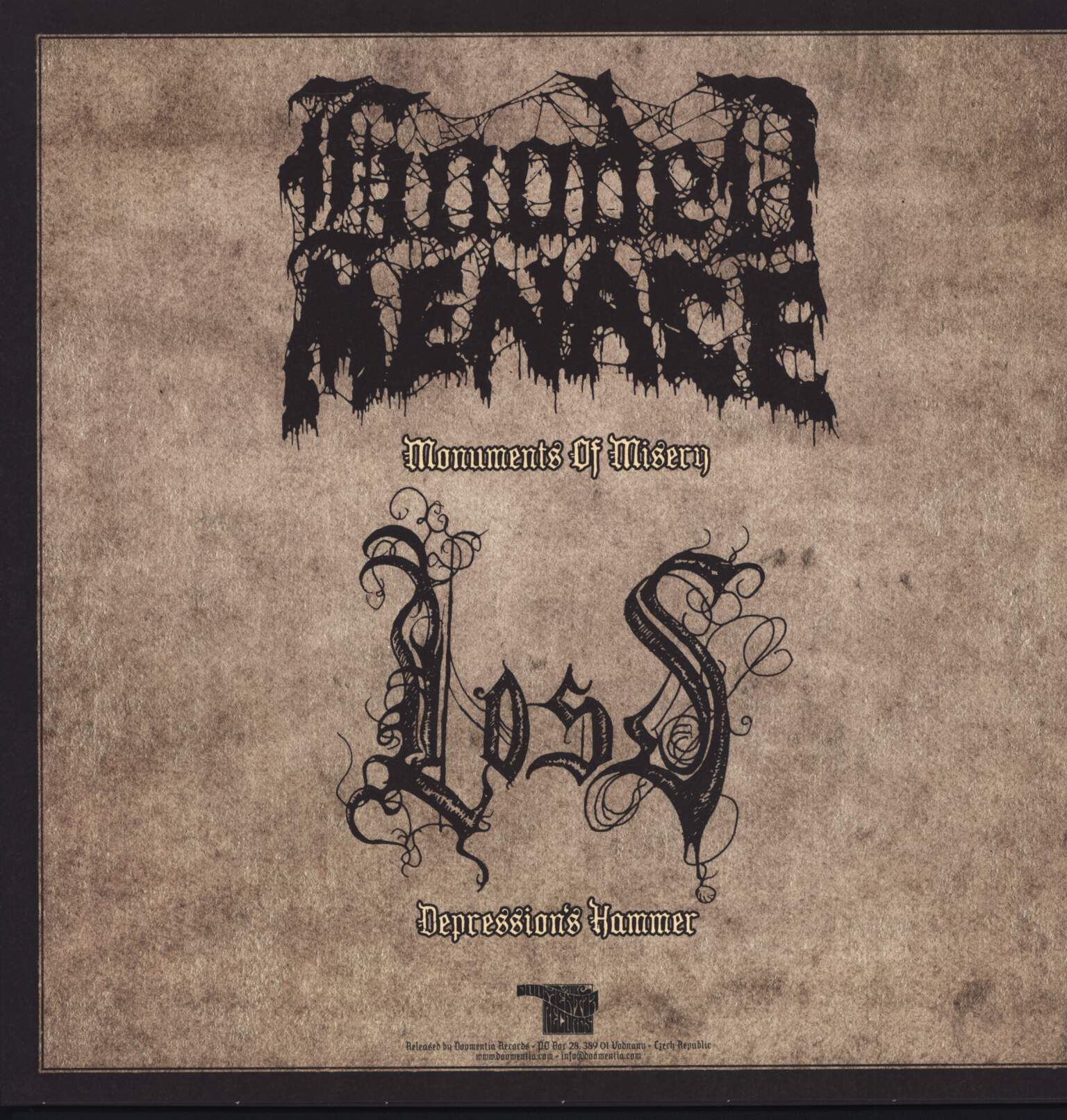 "Hooded Menace: A View From The Rope, 12"" Maxi Single (Vinyl)"