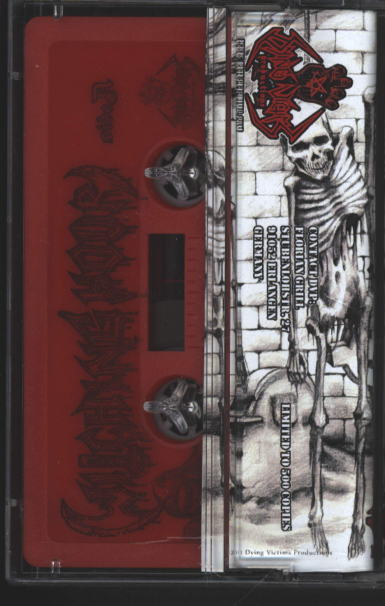Witching Hour: Rise Of The Desecrated, Compact Cassette