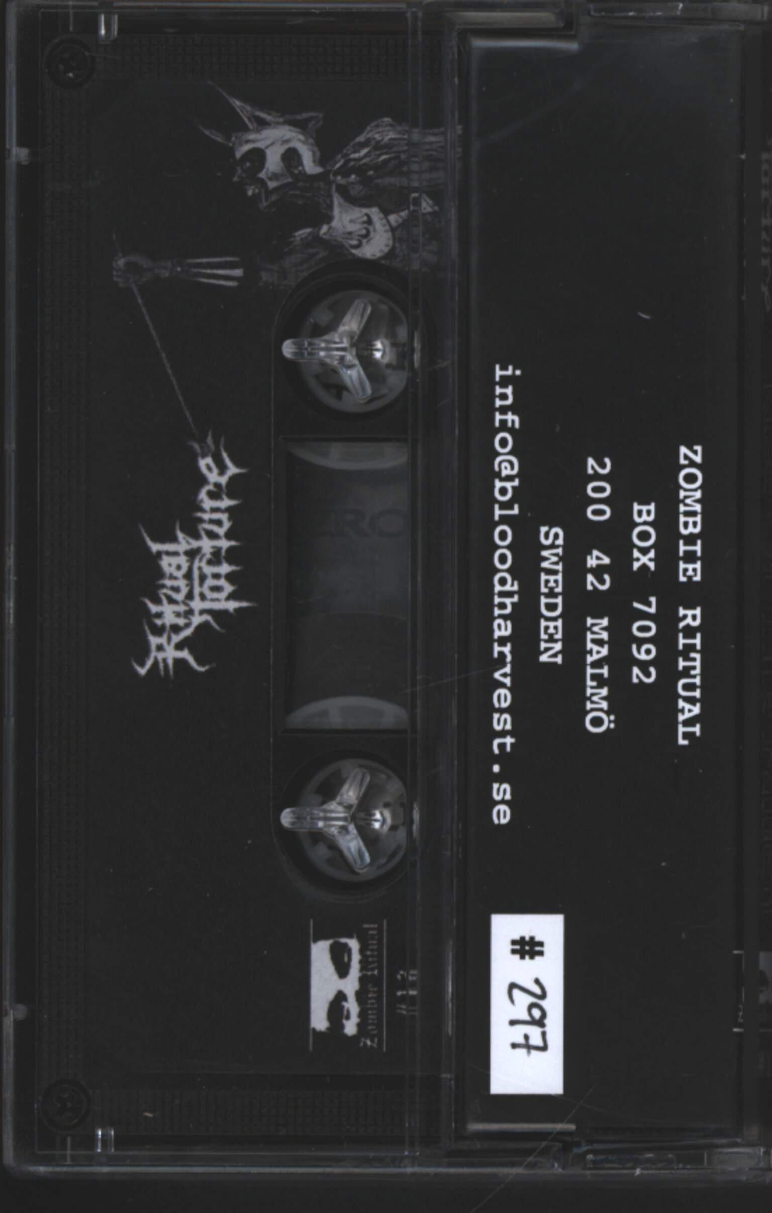 Ritual Torture: Rise Of The Fallen, Compact Cassette