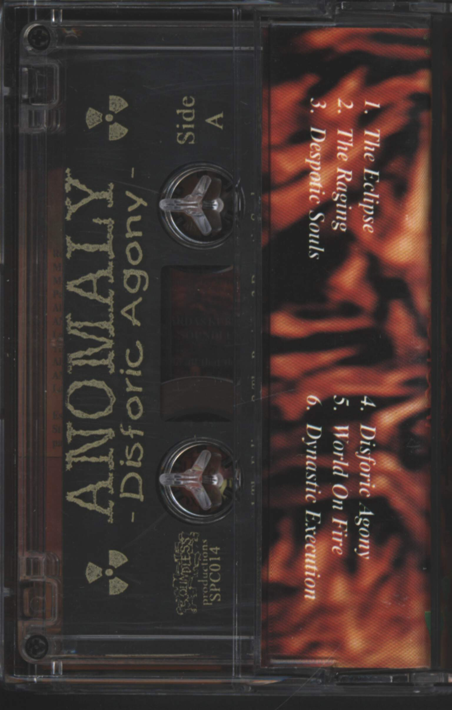Anomaly: Disforic Agony, Compact Cassette