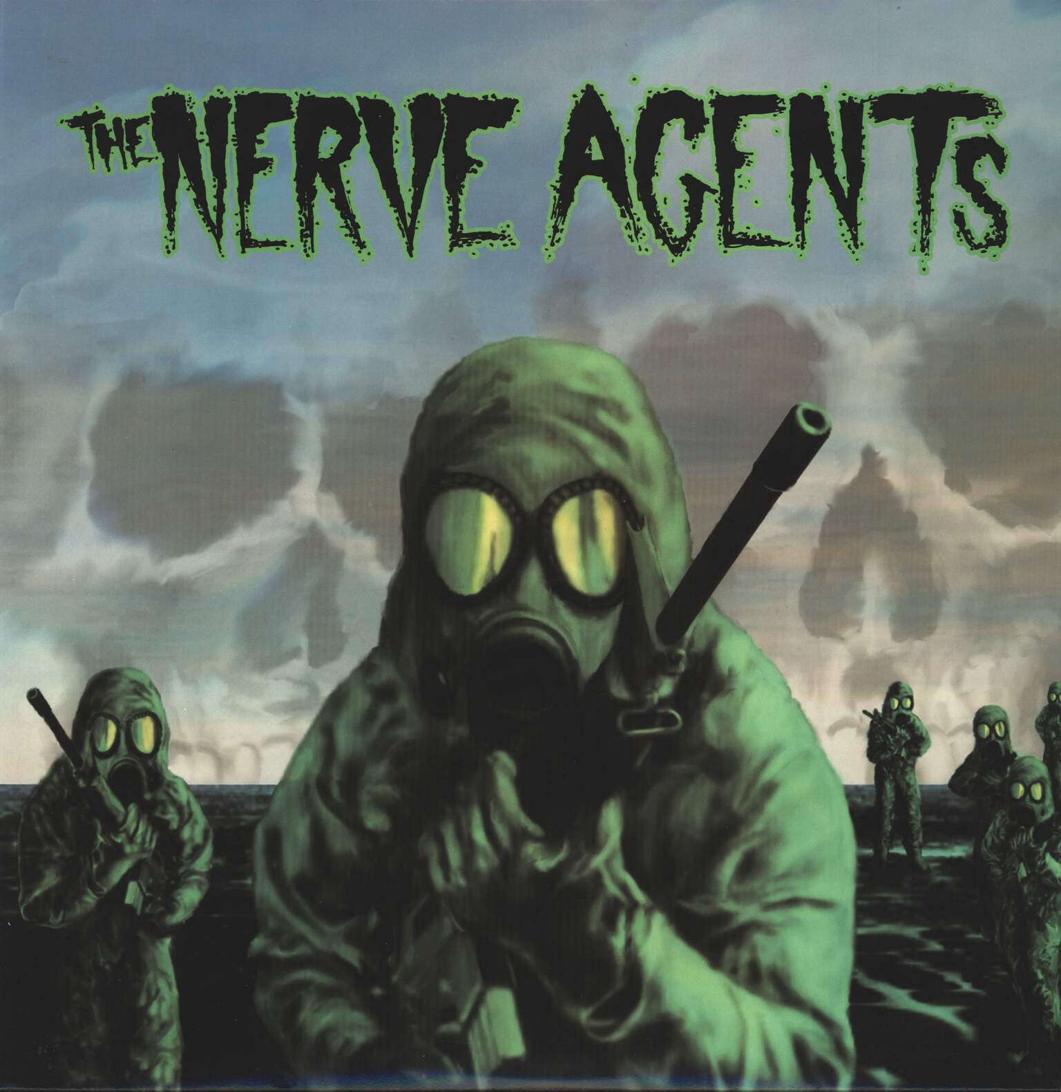 "The Nerve Agents: The Nerve Agents, 12"" Maxi Single (Vinyl)"