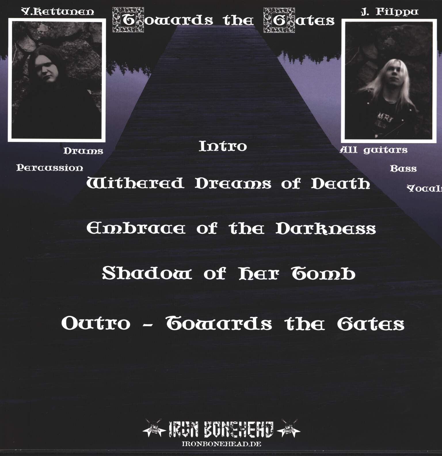 Cemetery Fog: Towards The Gates, Mini LP (Vinyl)
