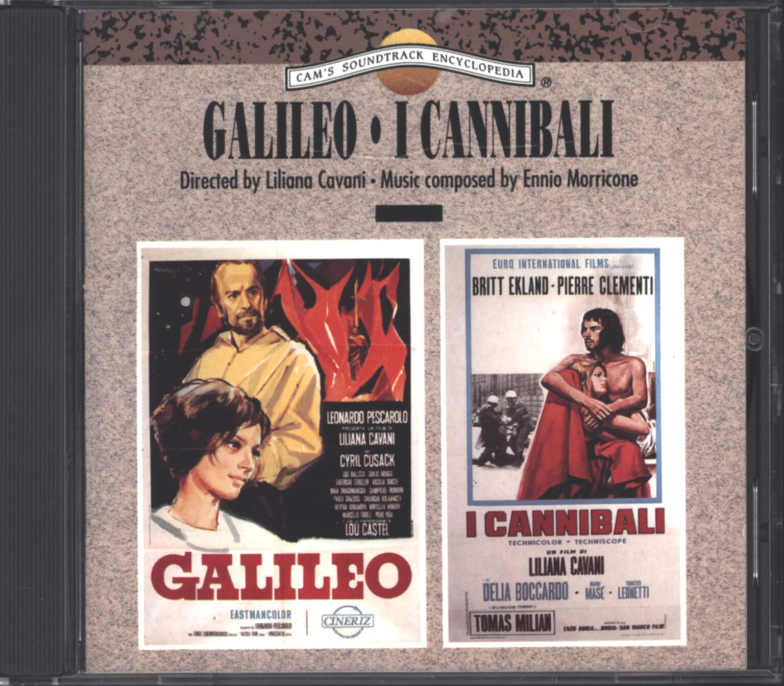 Ennio Morricone: Galileo / I Cannibali (Original Soundtrack), CD