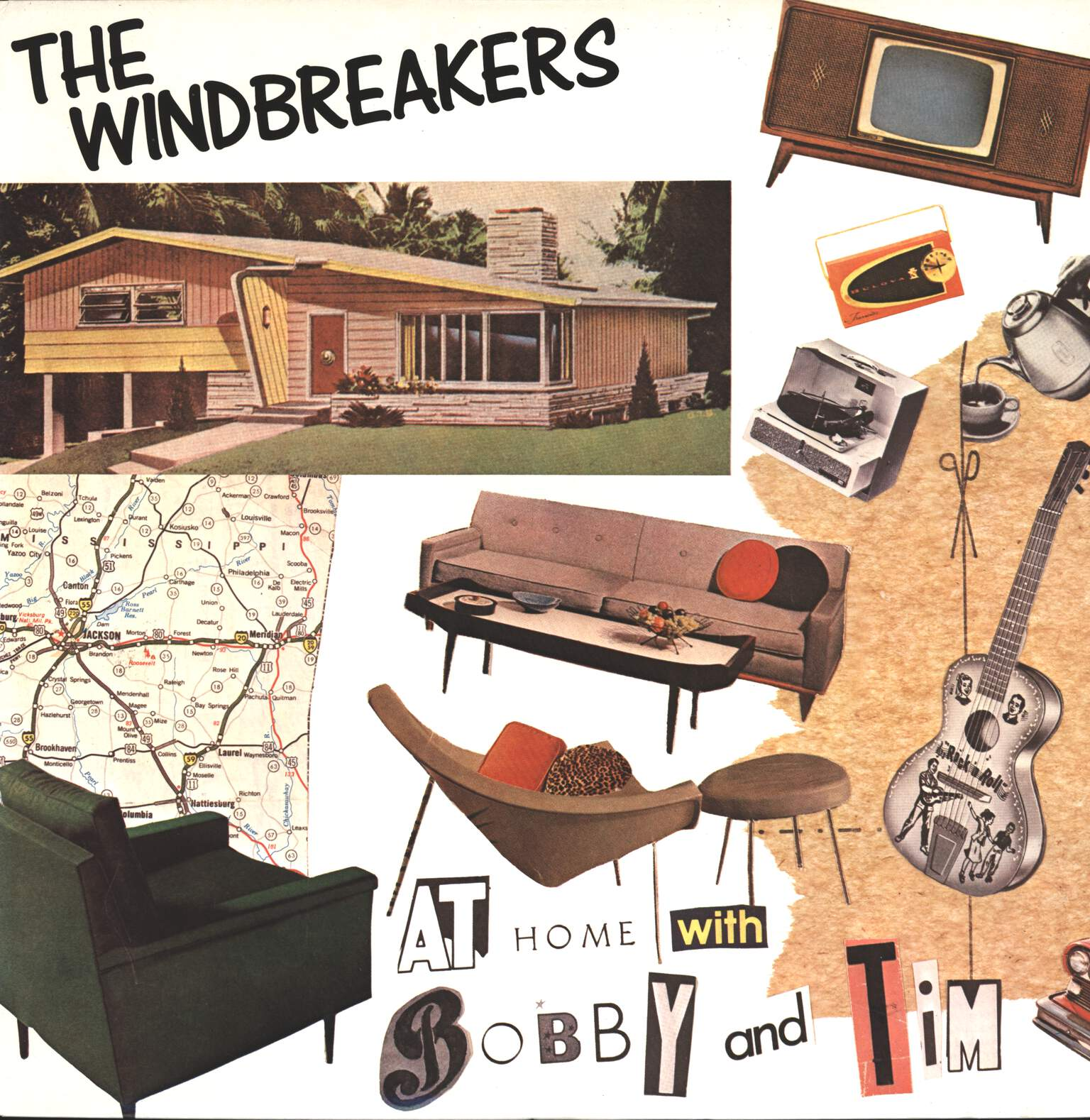 Windbreakers: At Home With Bobby And Tim, LP (Vinyl)
