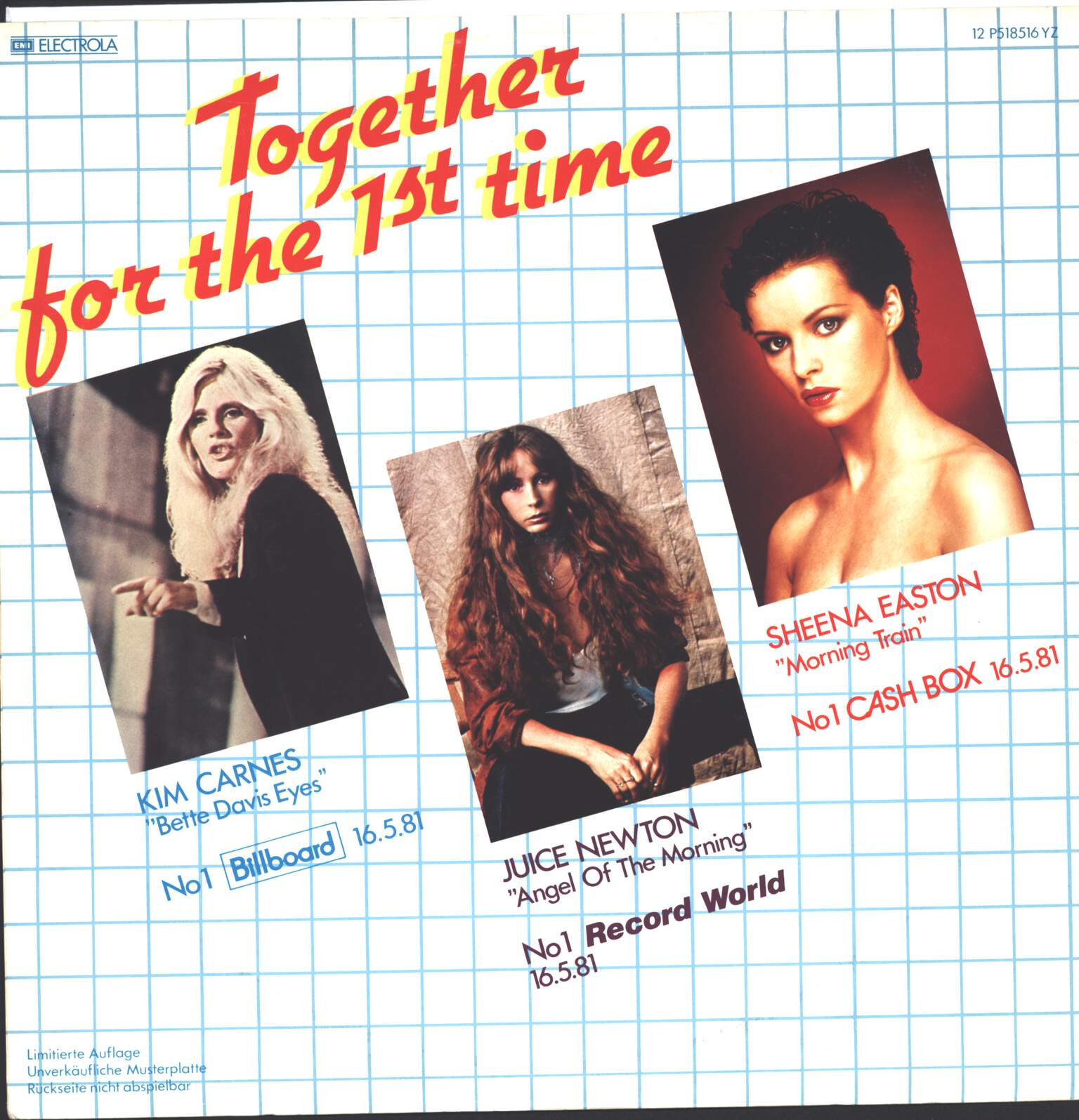 "Kim Carnes: Together For The 1st Time, 12"" Maxi Single (Vinyl)"