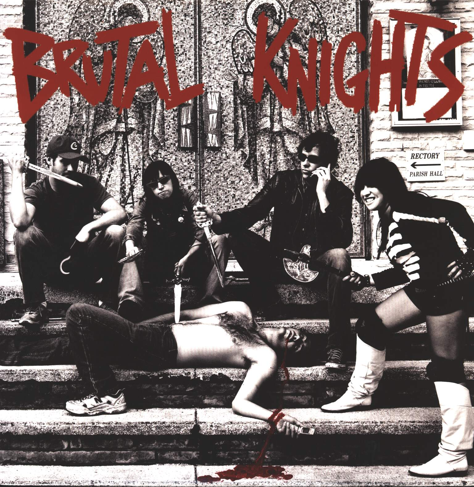 Brutal Knights: The Pleasure Is All Thine, LP (Vinyl)