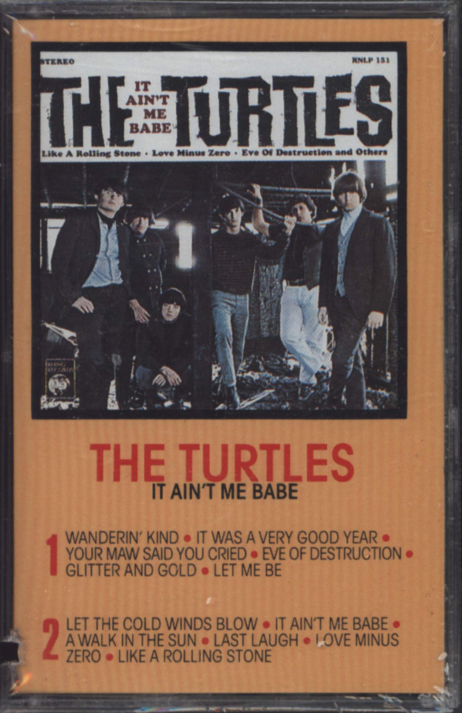 The Turtles: It Ain't Me Babe, 1×Tape