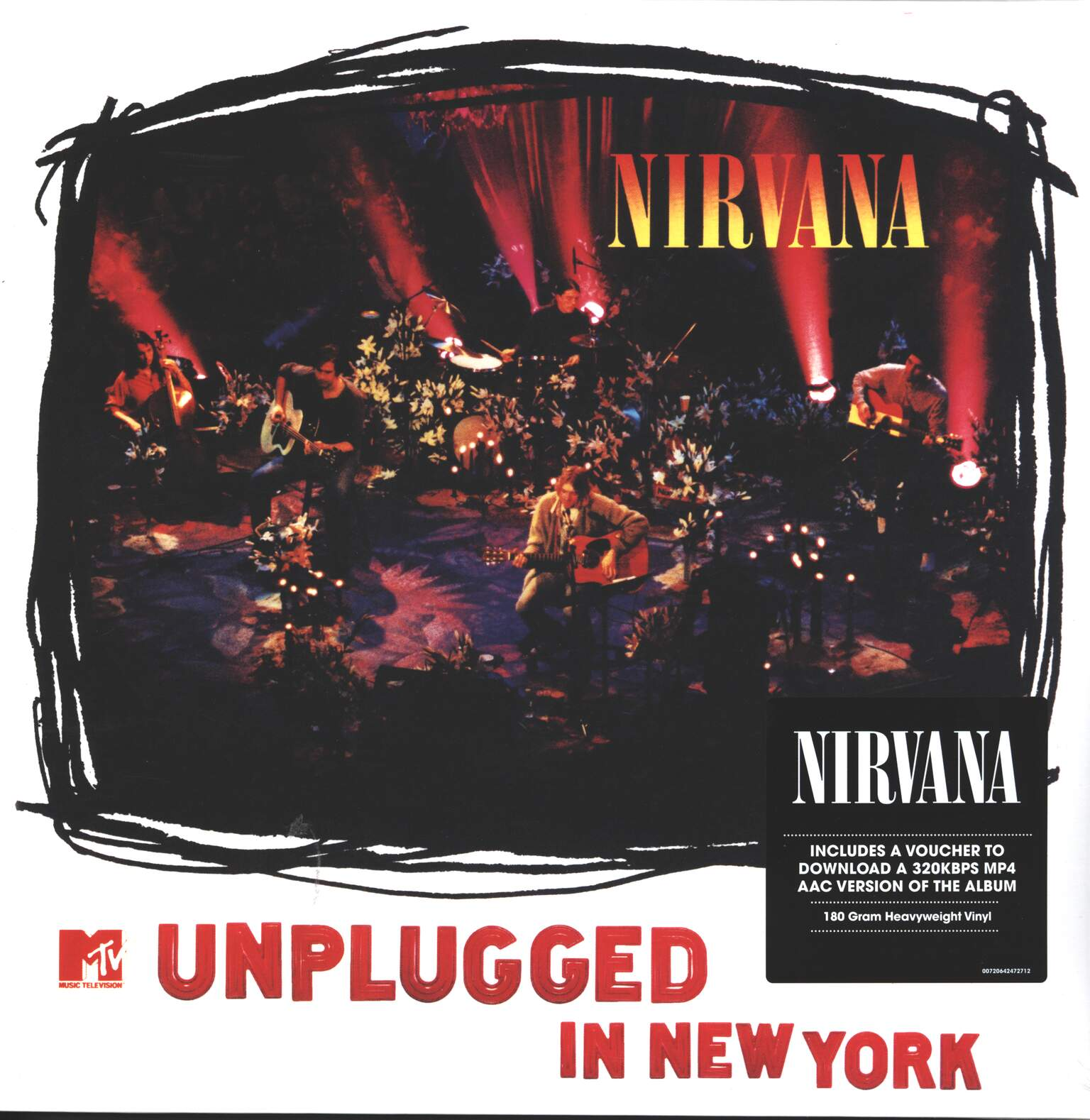 Nirvana: MTV Unplugged In New York, 1×LP (Vinyl)