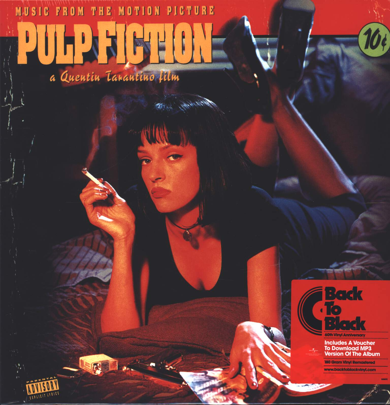 Various: Pulp Fiction (Music From The Motion Picture), 1×LP (Vinyl)