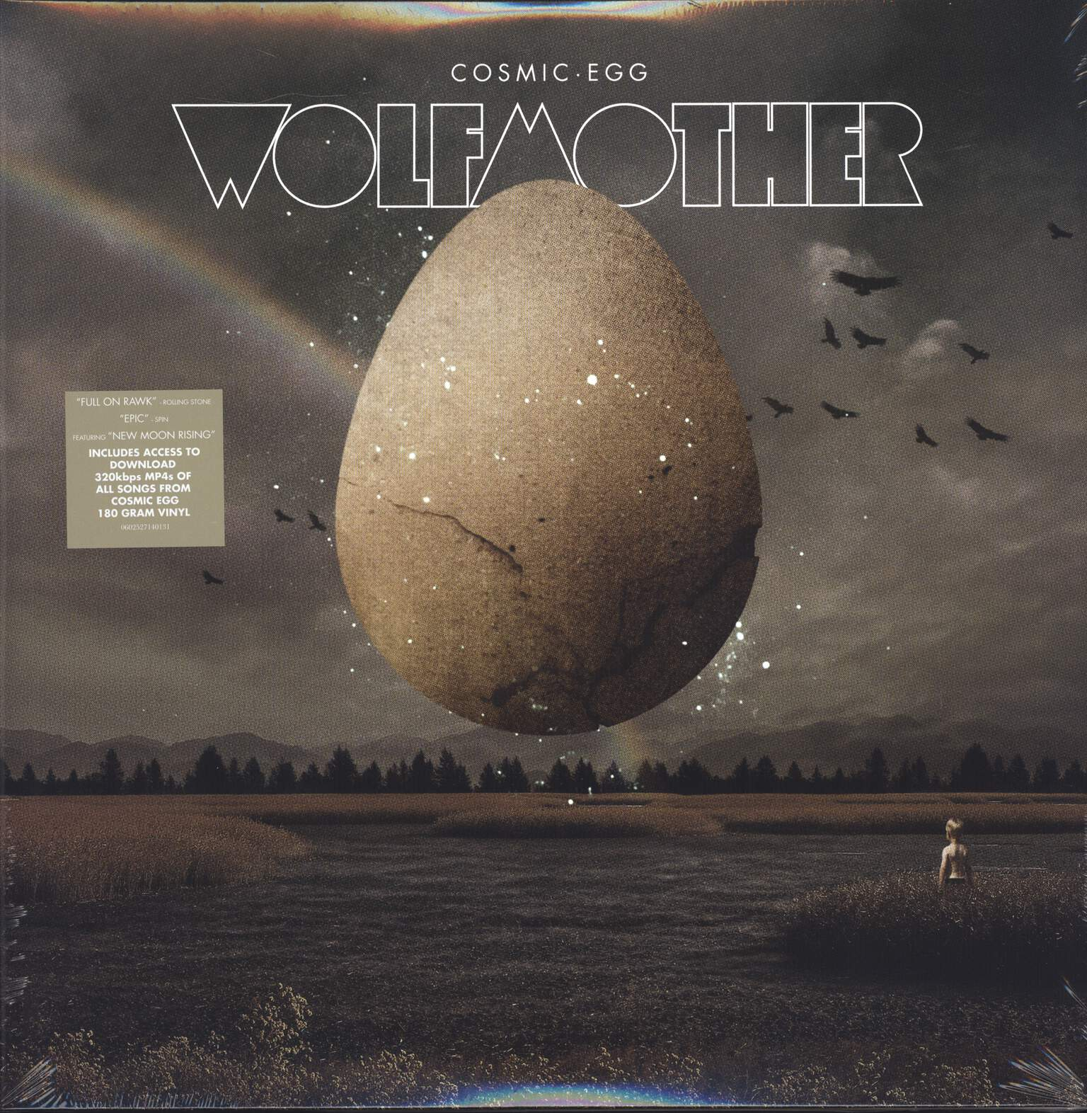 Wolfmother: Cosmic Egg, 2×LP (Vinyl)